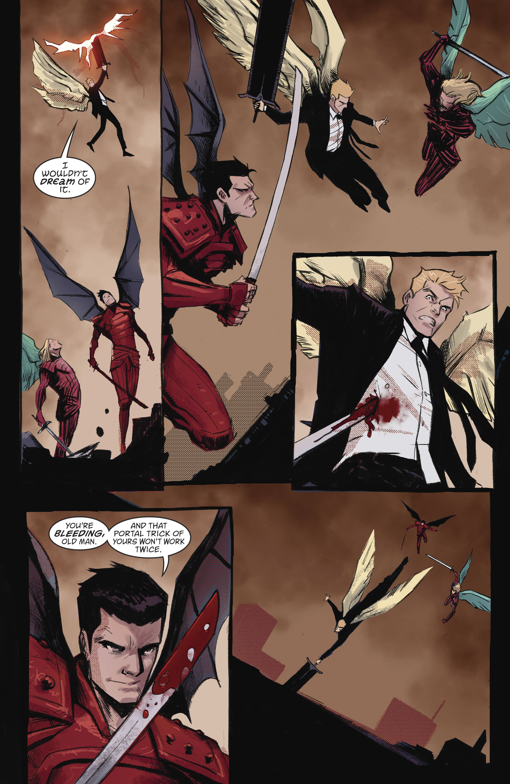 Read online Lucifer (2016) comic -  Issue #18 - 6