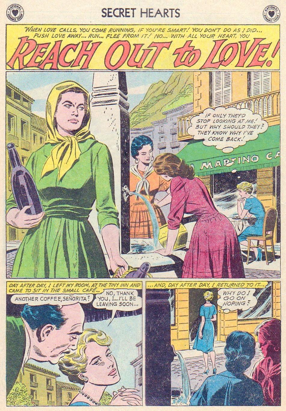 Read online Secret Hearts comic -  Issue #72 - 12