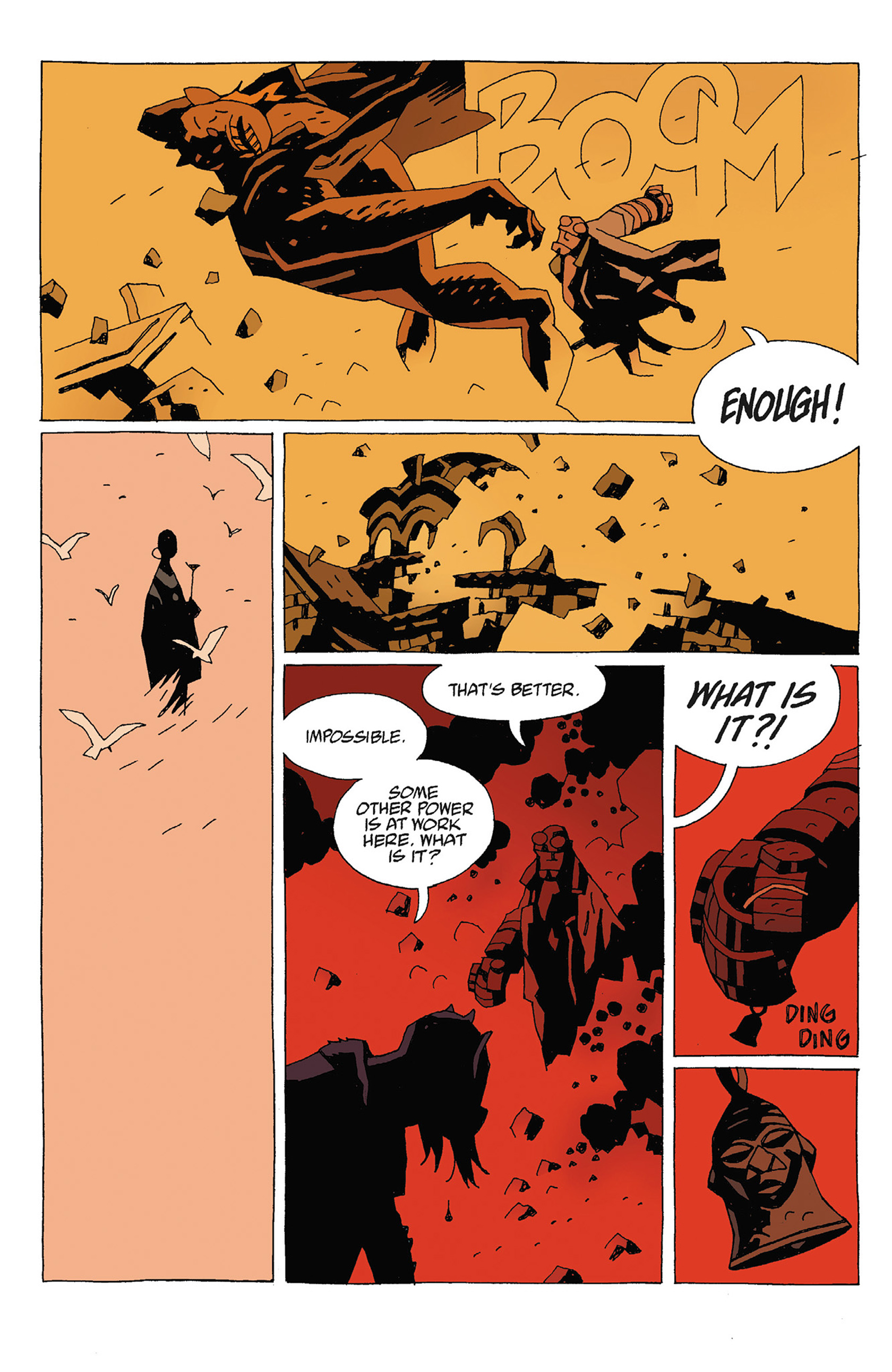 Read online Hellboy: Strange Places comic -  Issue # TPB - 116