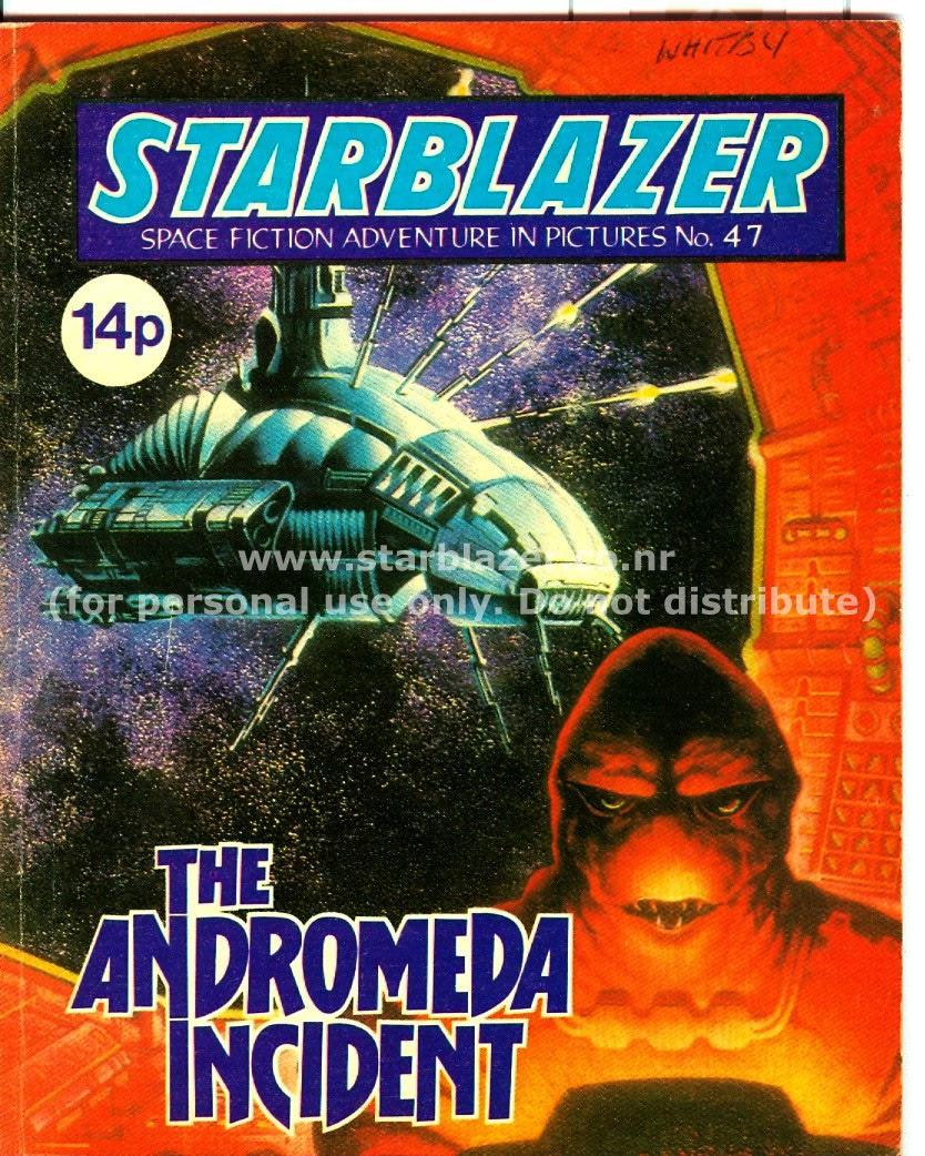 Starblazer issue 47 - Page 1