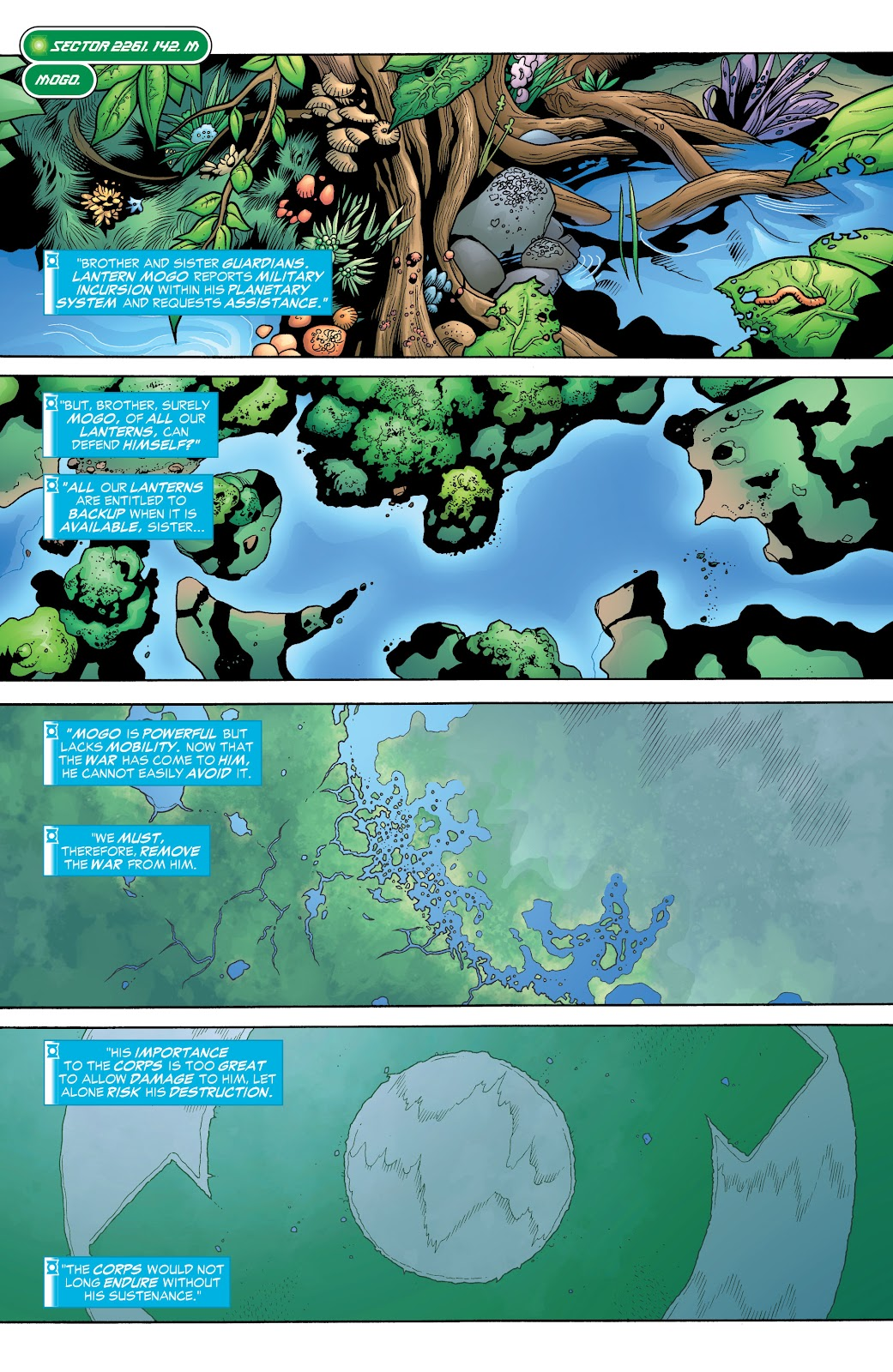 Read online Green Lantern by Geoff Johns comic -  Issue # TPB 1 (Part 3) - 7