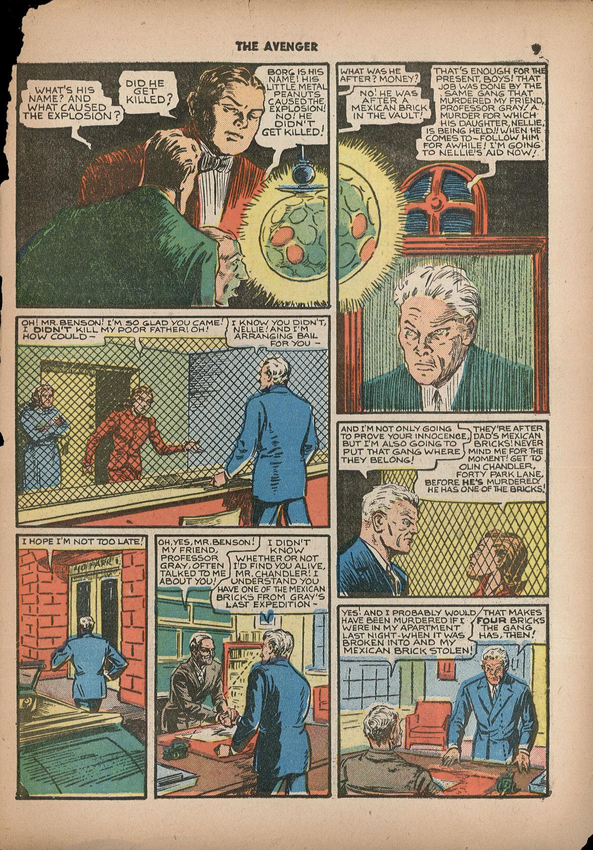 Read online Shadow Comics comic -  Issue #2 - 12