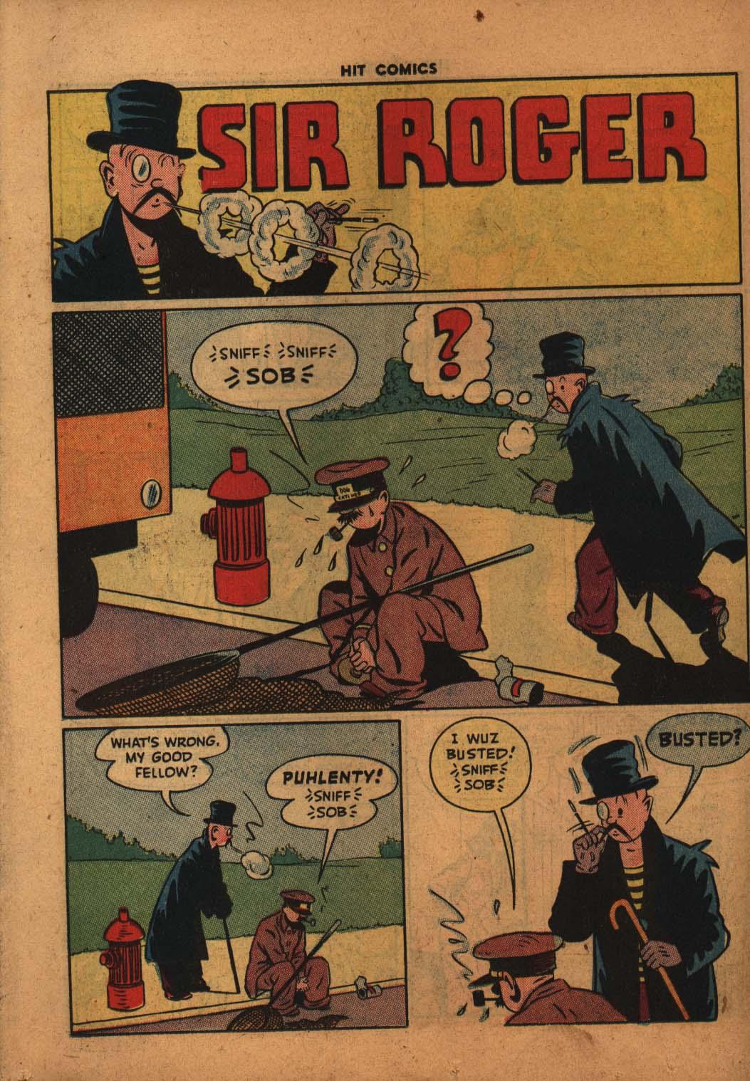 Read online Hit Comics comic -  Issue #47 - 31