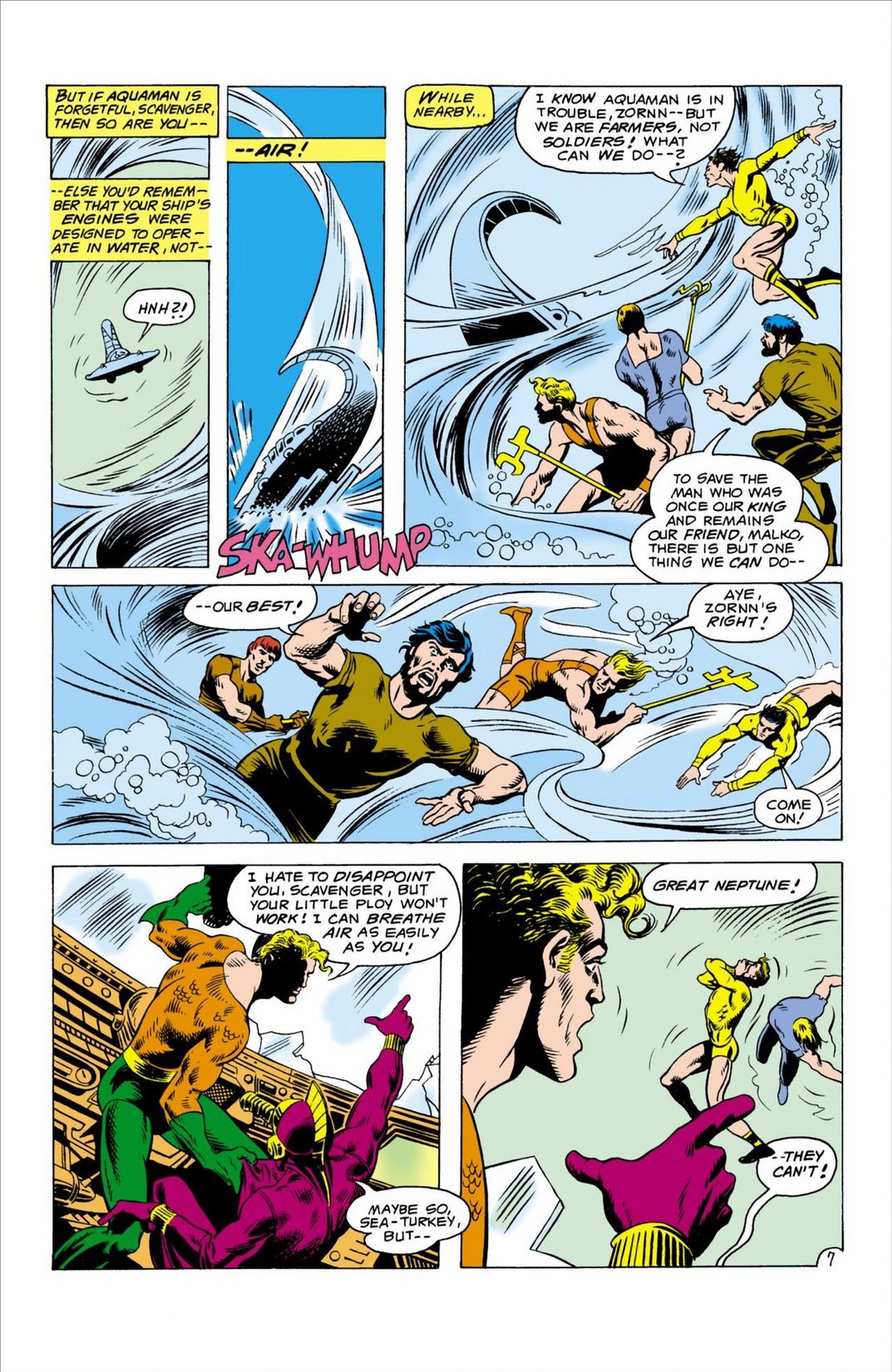 Read online Aquaman (1962) comic -  Issue #60 - 8