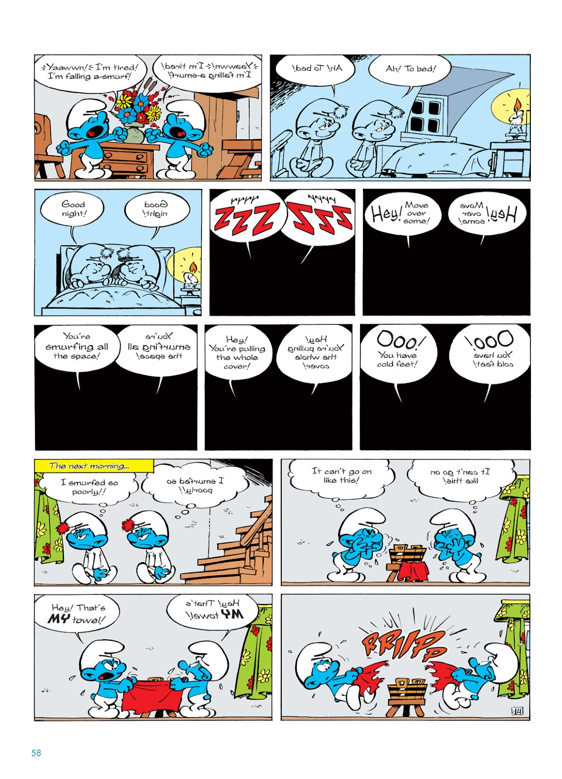 Read online The Smurfs comic -  Issue #5 - 58