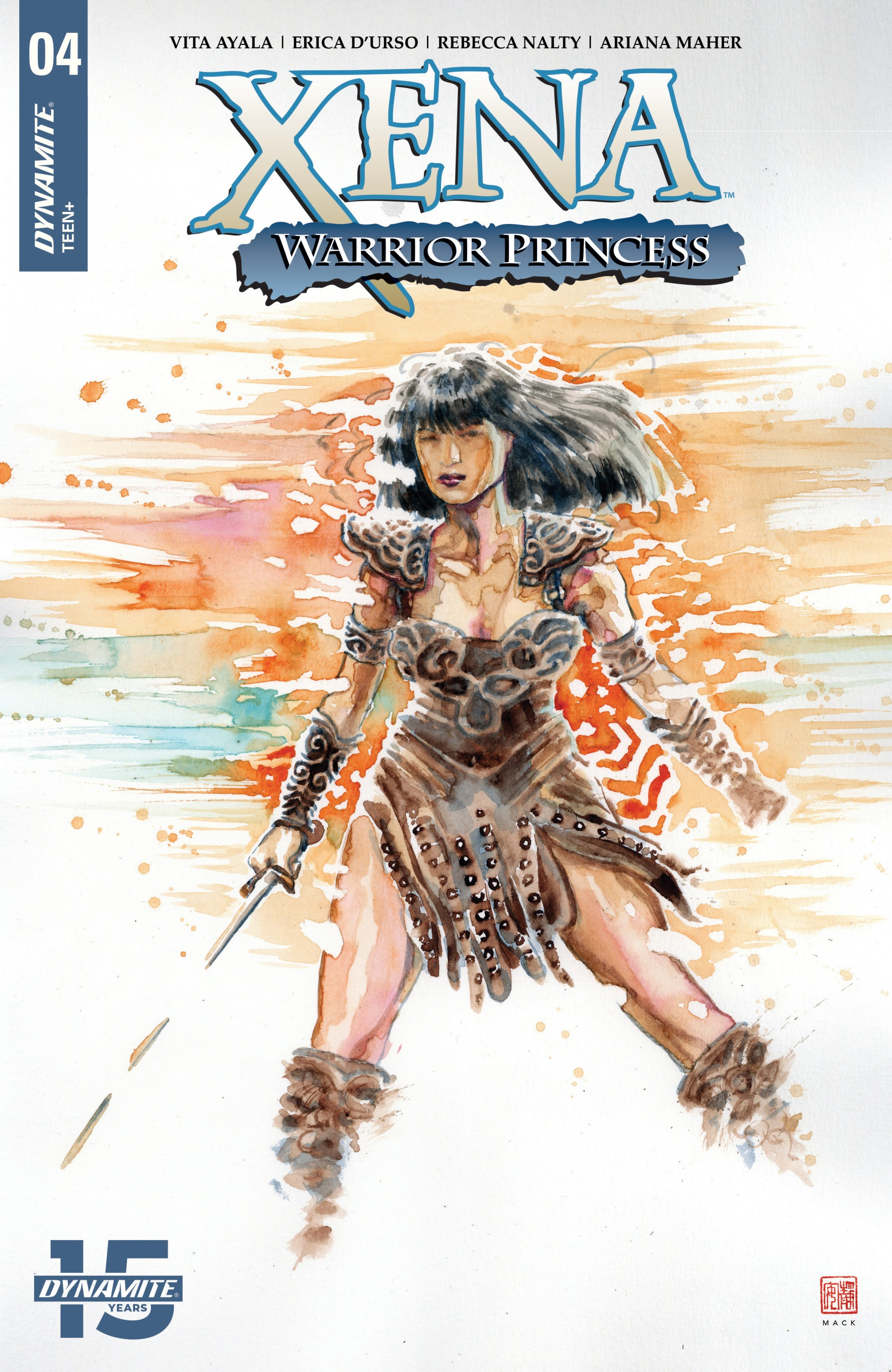 Xena: Warrior Princess (2019) 4 Page 1