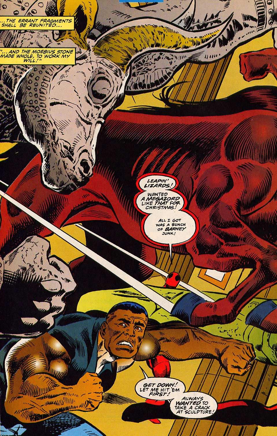 Read online Secret Defenders comic -  Issue #15 - 20