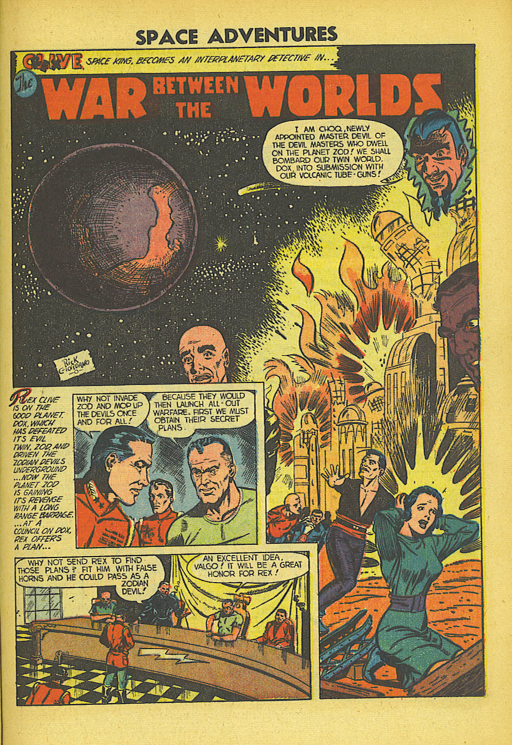 Read online Space Adventures comic -  Issue #5 - 18