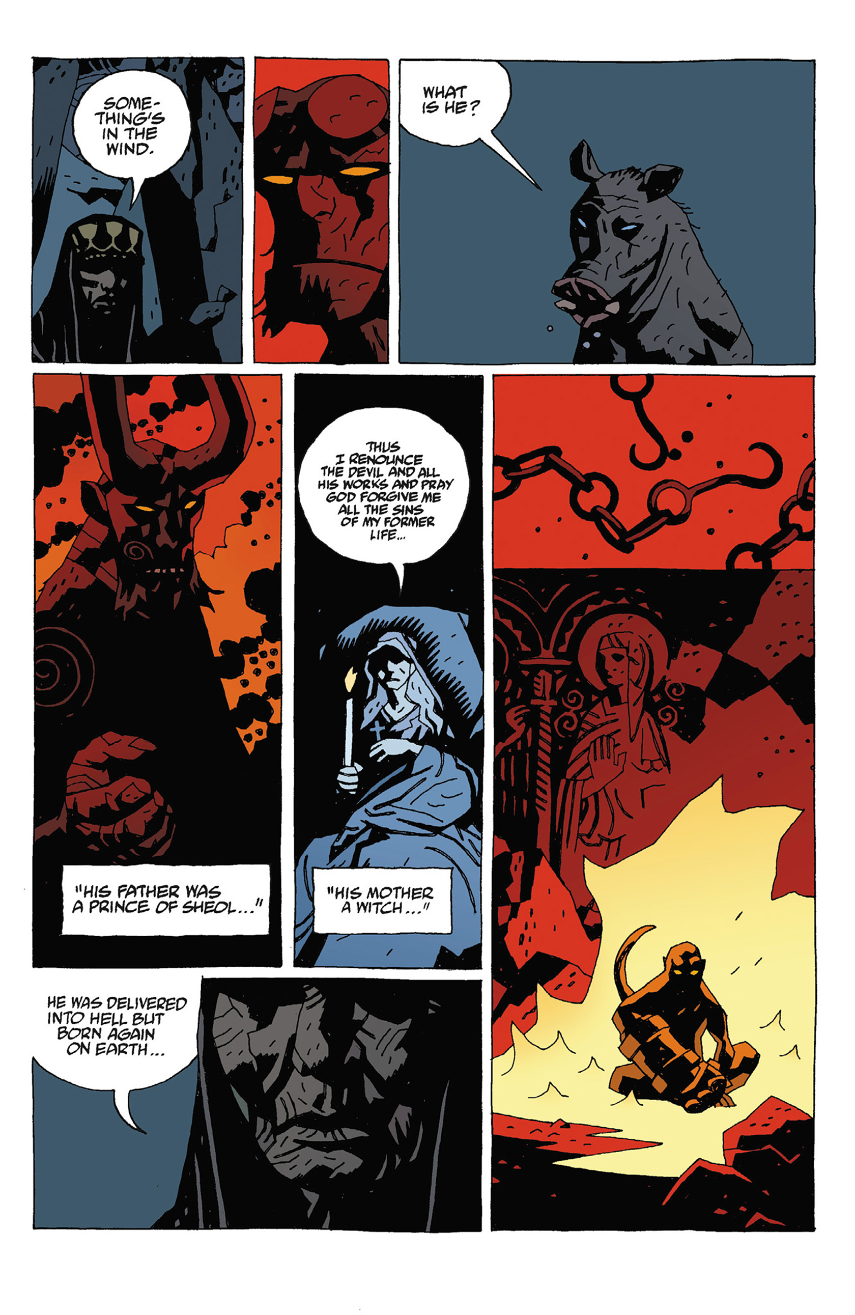 Read online Hellboy: Strange Places comic -  Issue # TPB - 129