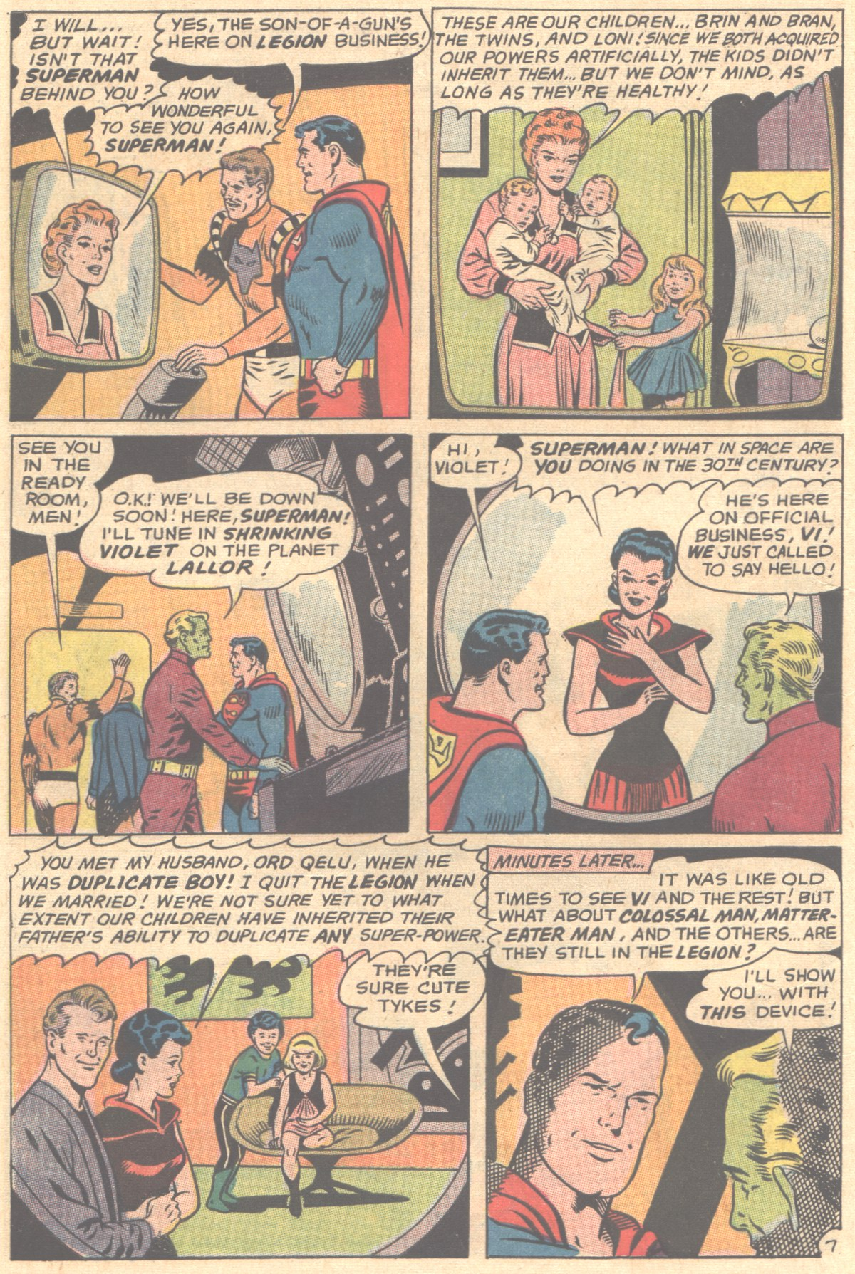 Read online Adventure Comics (1938) comic -  Issue #354 - 10