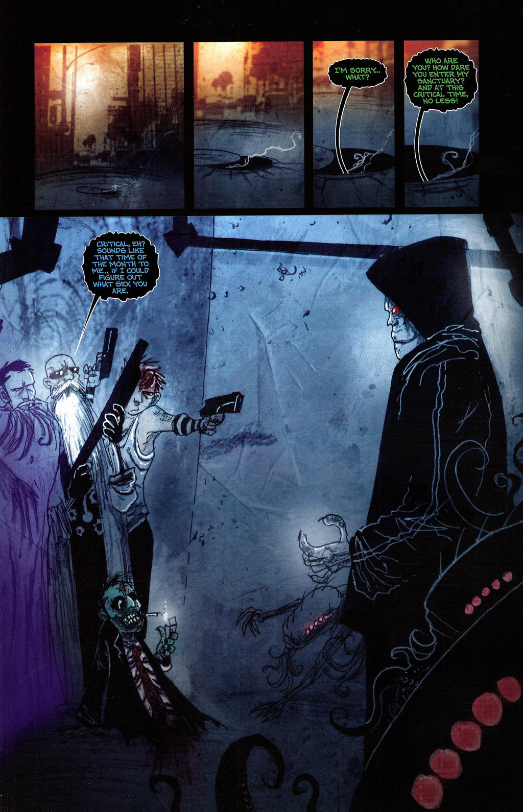 Read online Wormwood: Gentleman Corpse comic -  Issue #4 - 4