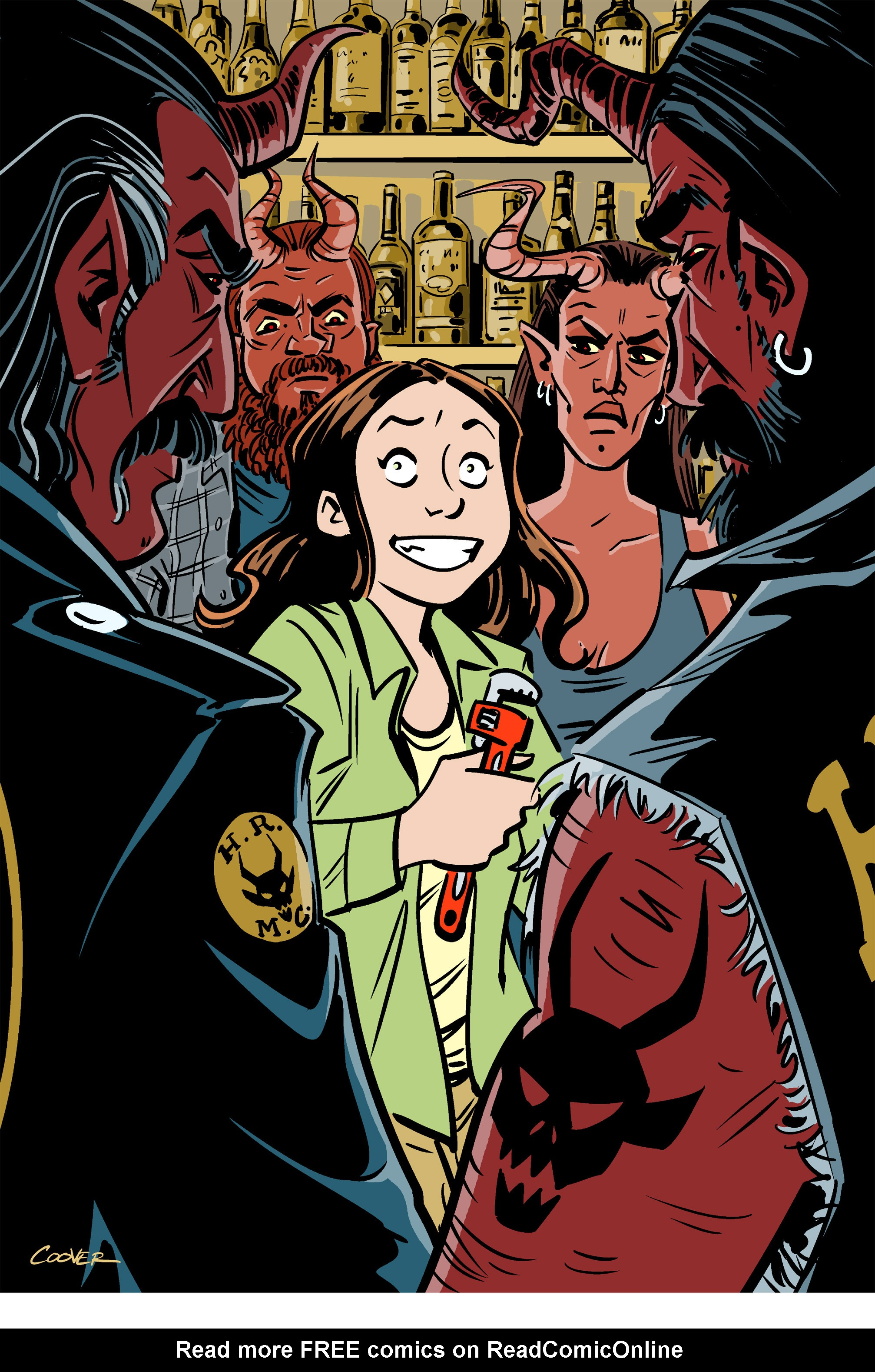 Read online Amelia Cole Versus The End of Everything comic -  Issue #26 - 18