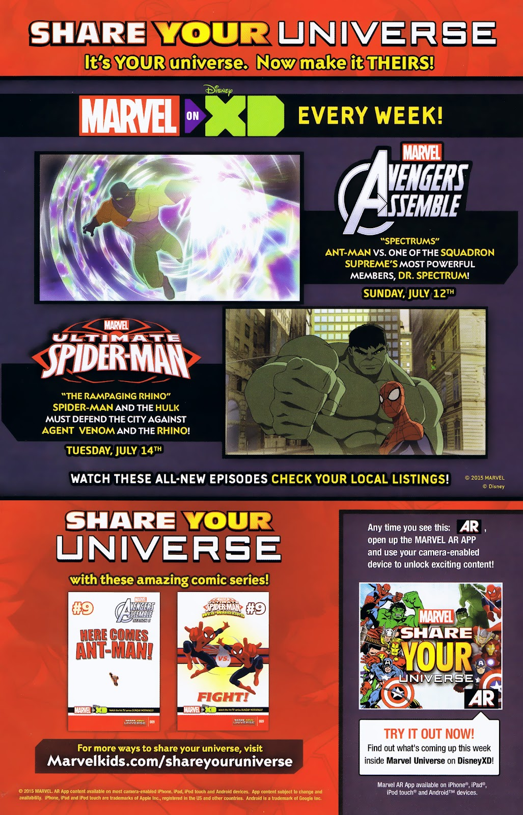 Read online Marvel Universe Avengers Assemble Season 2 comic -  Issue #9 - 9