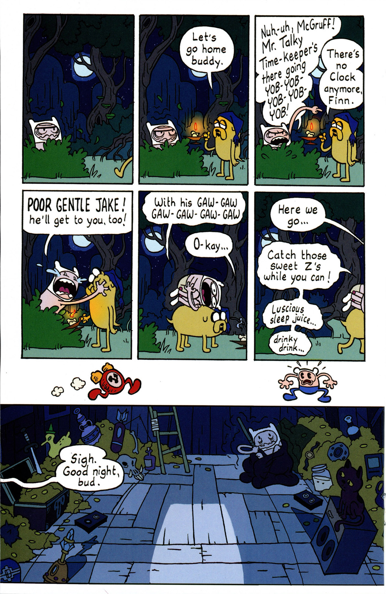 Read online Adventure Time Comics comic -  Issue #4 - 20