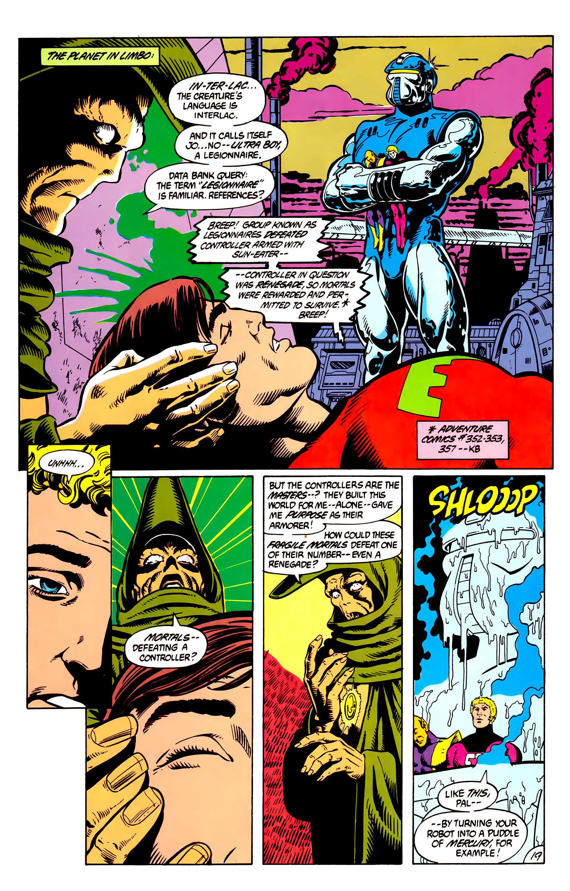 Legion of Super-Heroes (1984) 8 Page 20