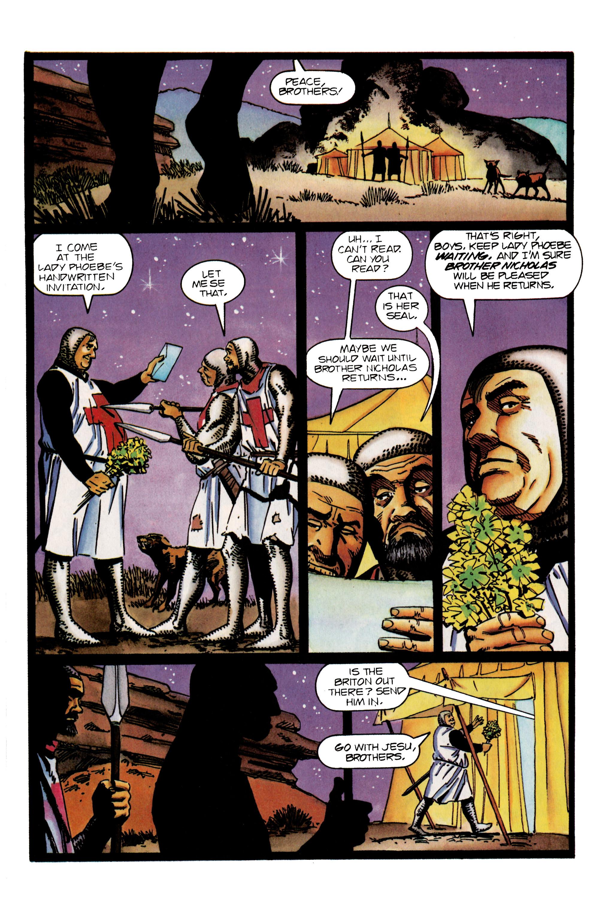 Read online Eternal Warrior (1992) comic -  Issue #25 - 13