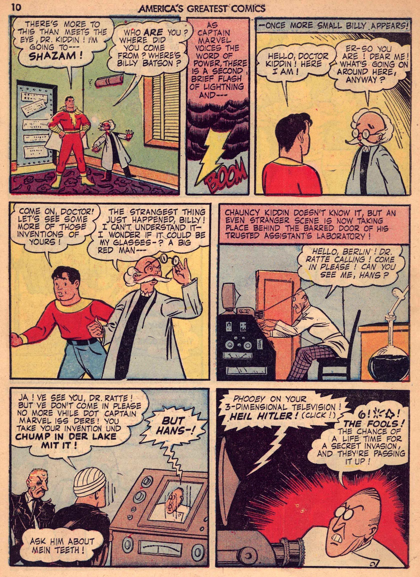 Read online America's Greatest Comics comic -  Issue #7 - 9