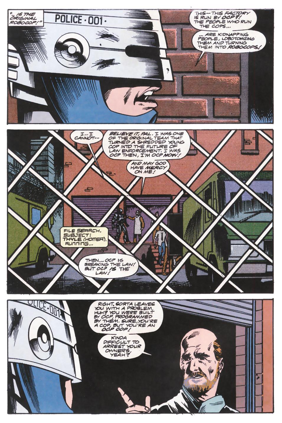 Read online Robocop (1990) comic -  Issue #14 - 4