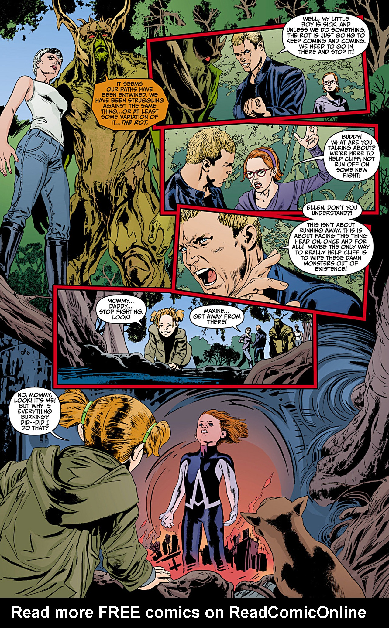 Read online Animal Man (2011) comic -  Issue #12 - 12