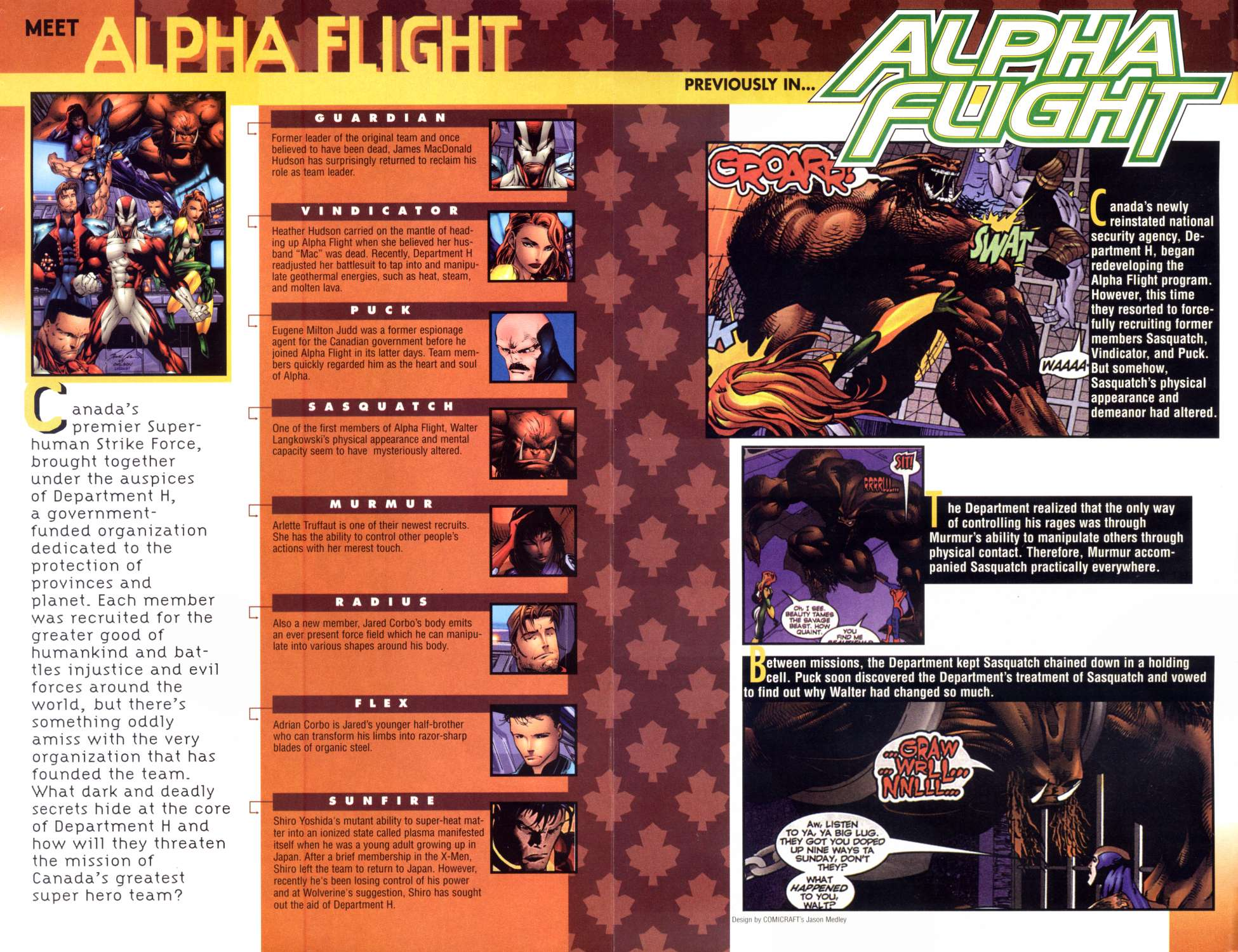 Read online Alpha Flight (1997) comic -  Issue #6 - 2