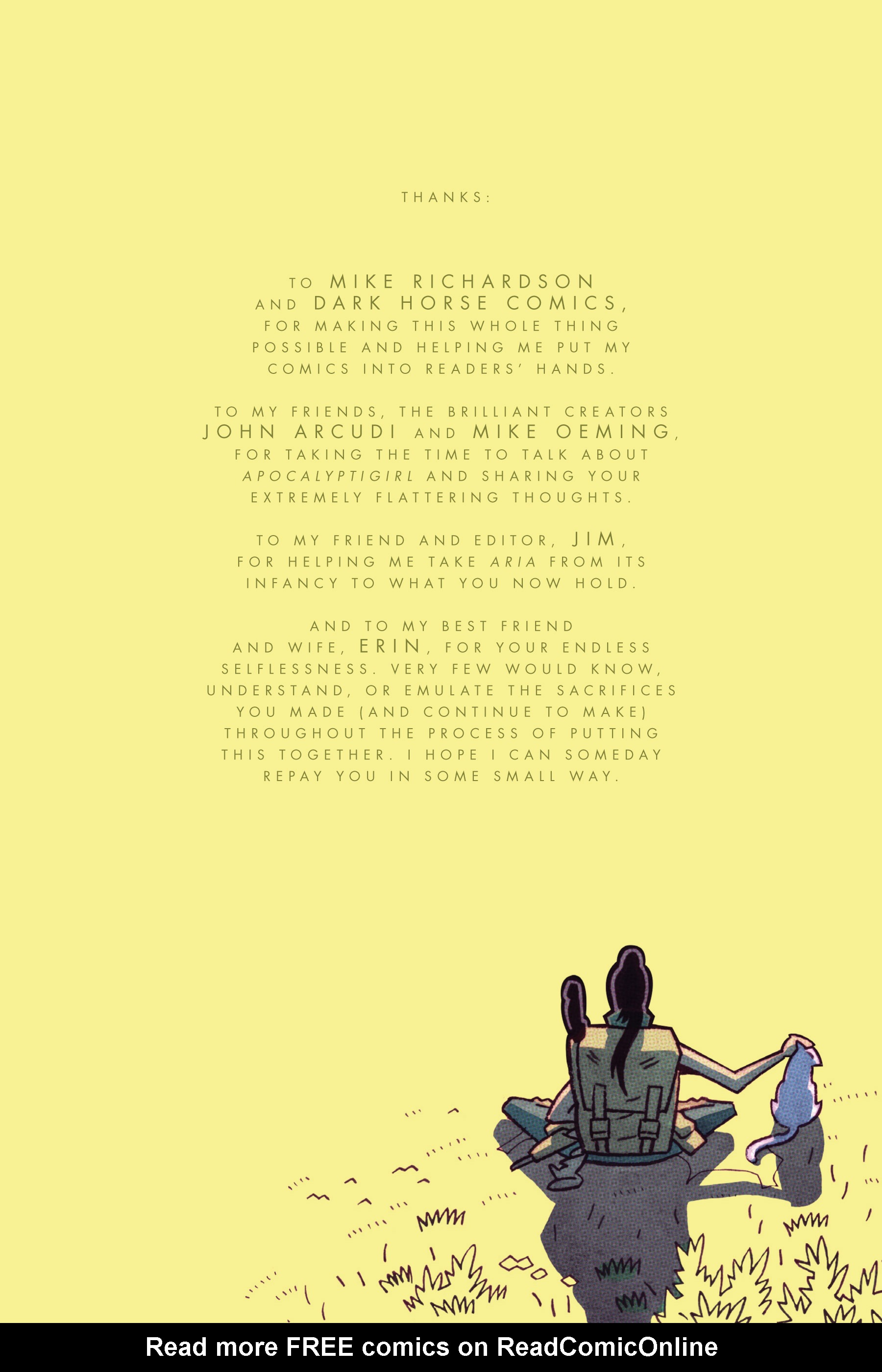 Read online ApocalyptiGirl: An Aria for the End Times comic -  Issue #ApocalyptiGirl: An Aria for the End Times Full - 96