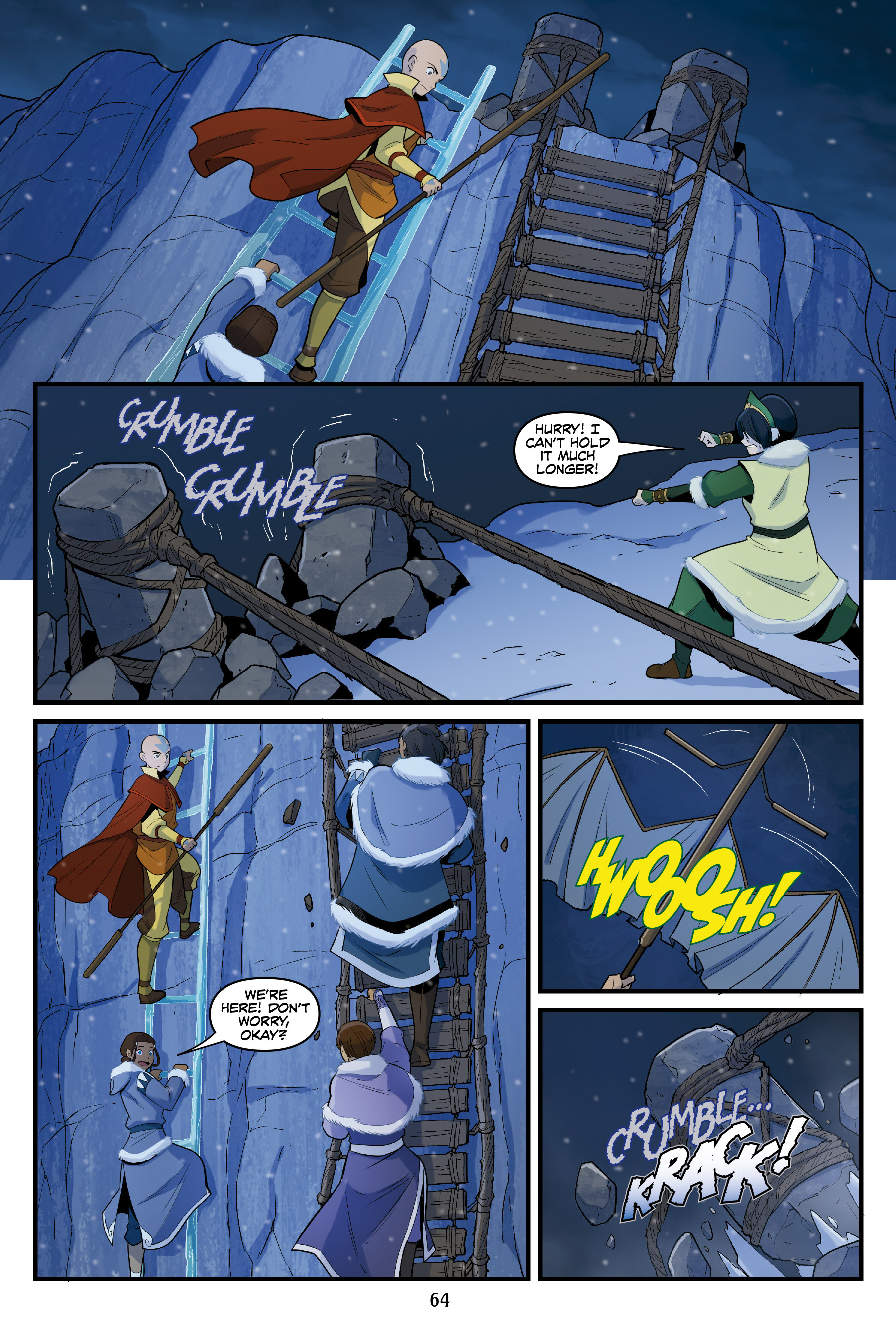 Read online Nickelodeon Avatar: The Last Airbender - North and South comic -  Issue #3 - 63