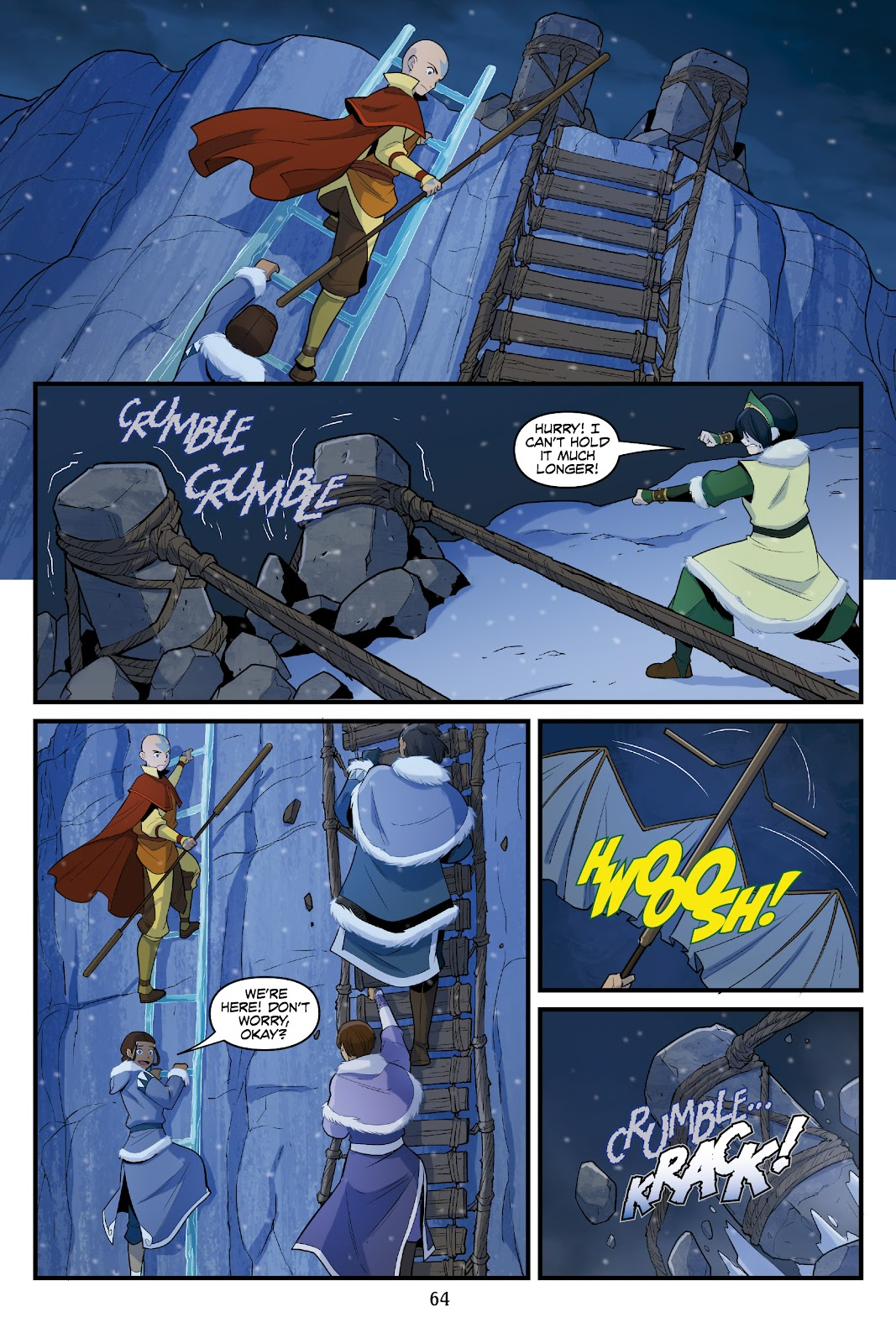 Nickelodeon Avatar: The Last Airbender - North and South issue 3 - Page 63