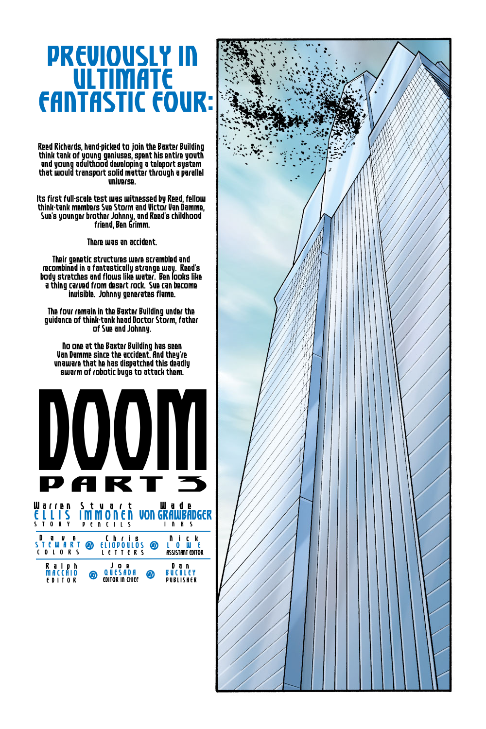 Read online Ultimate Fantastic Four (2004) comic -  Issue #9 - 2