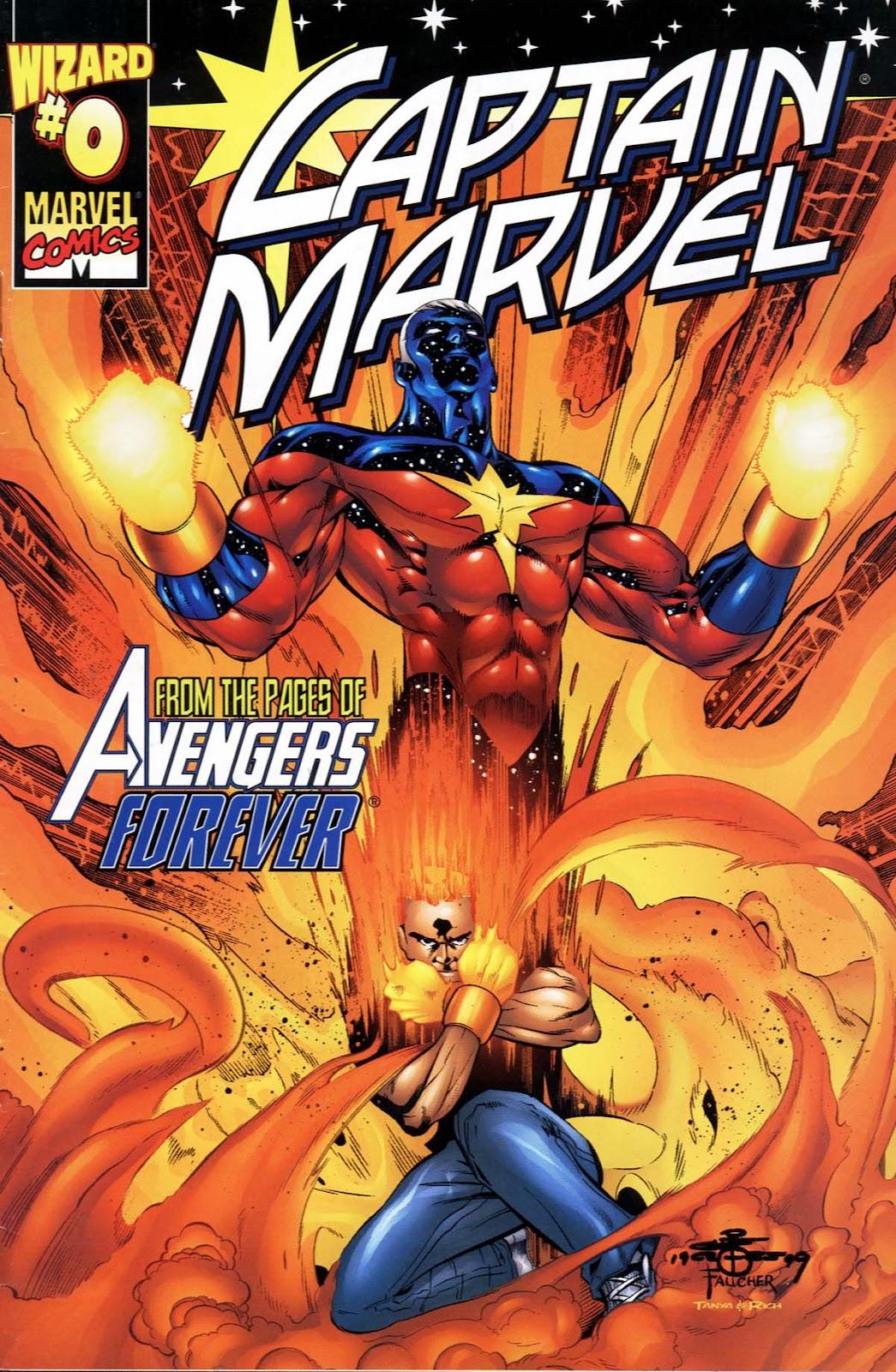 Captain Marvel (1999) Issue #0 #1 - English 1