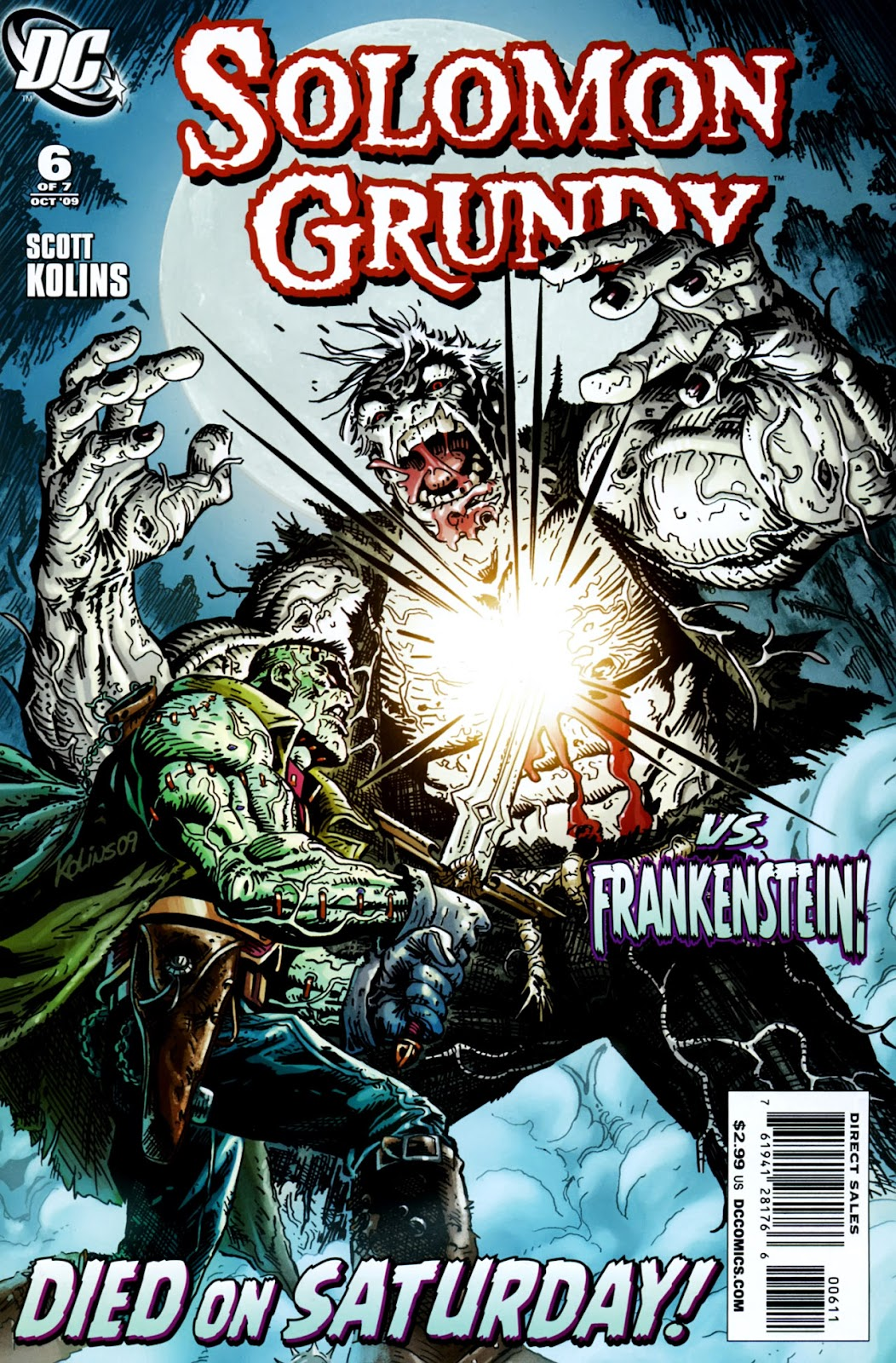 Solomon Grundy issue 6 - Page 1