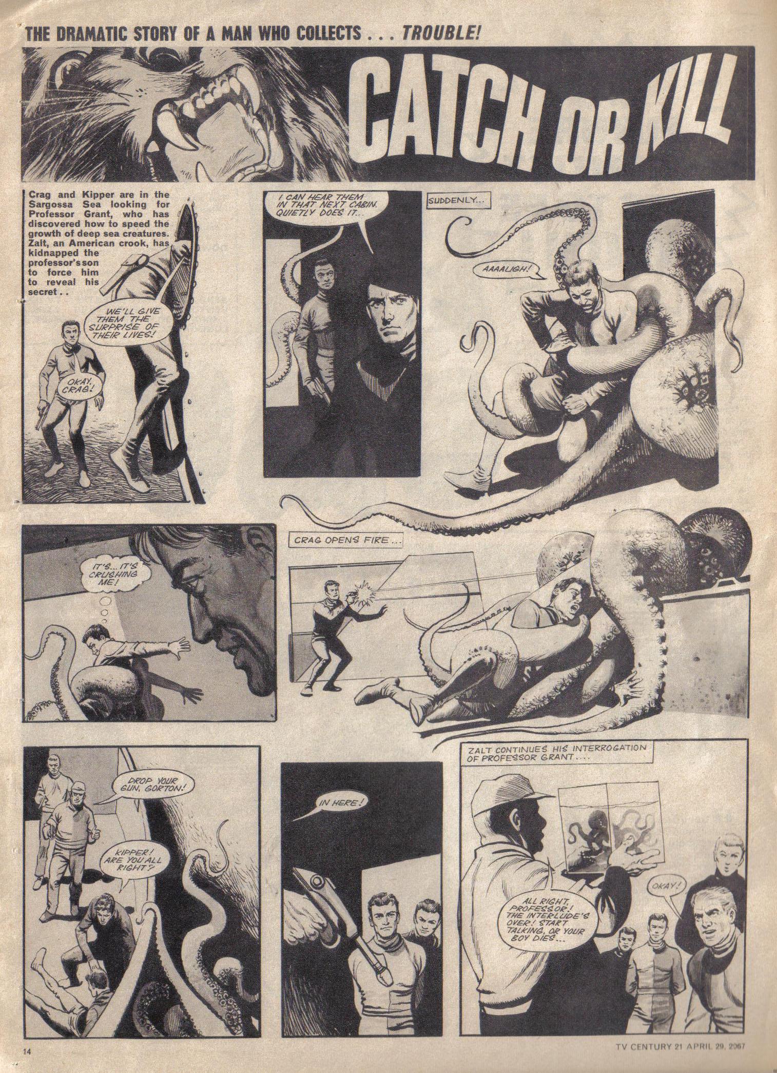 Read online TV Century 21 (TV 21) comic -  Issue #119 - 13