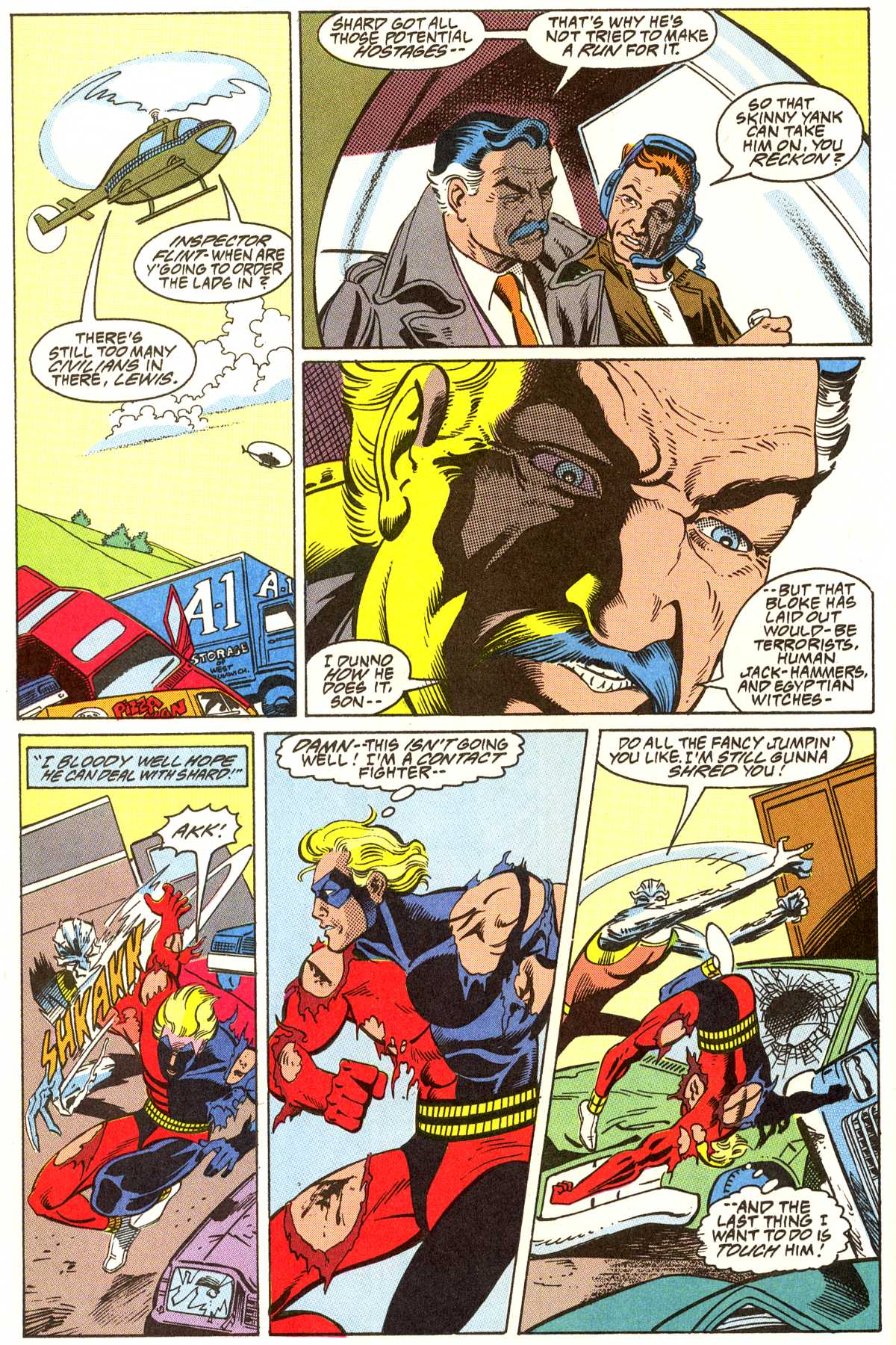 Read online Peter Cannon--Thunderbolt (1992) comic -  Issue #7 - 9