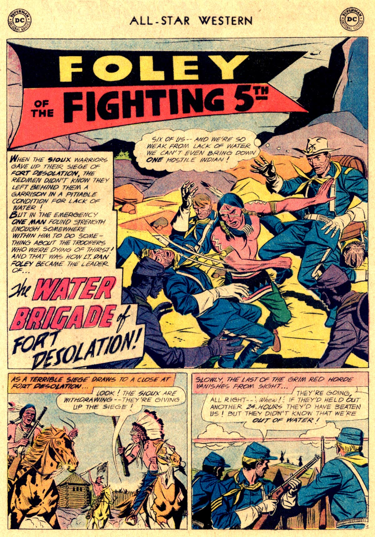 Read online All-Star Western (1951) comic -  Issue #112 - 16