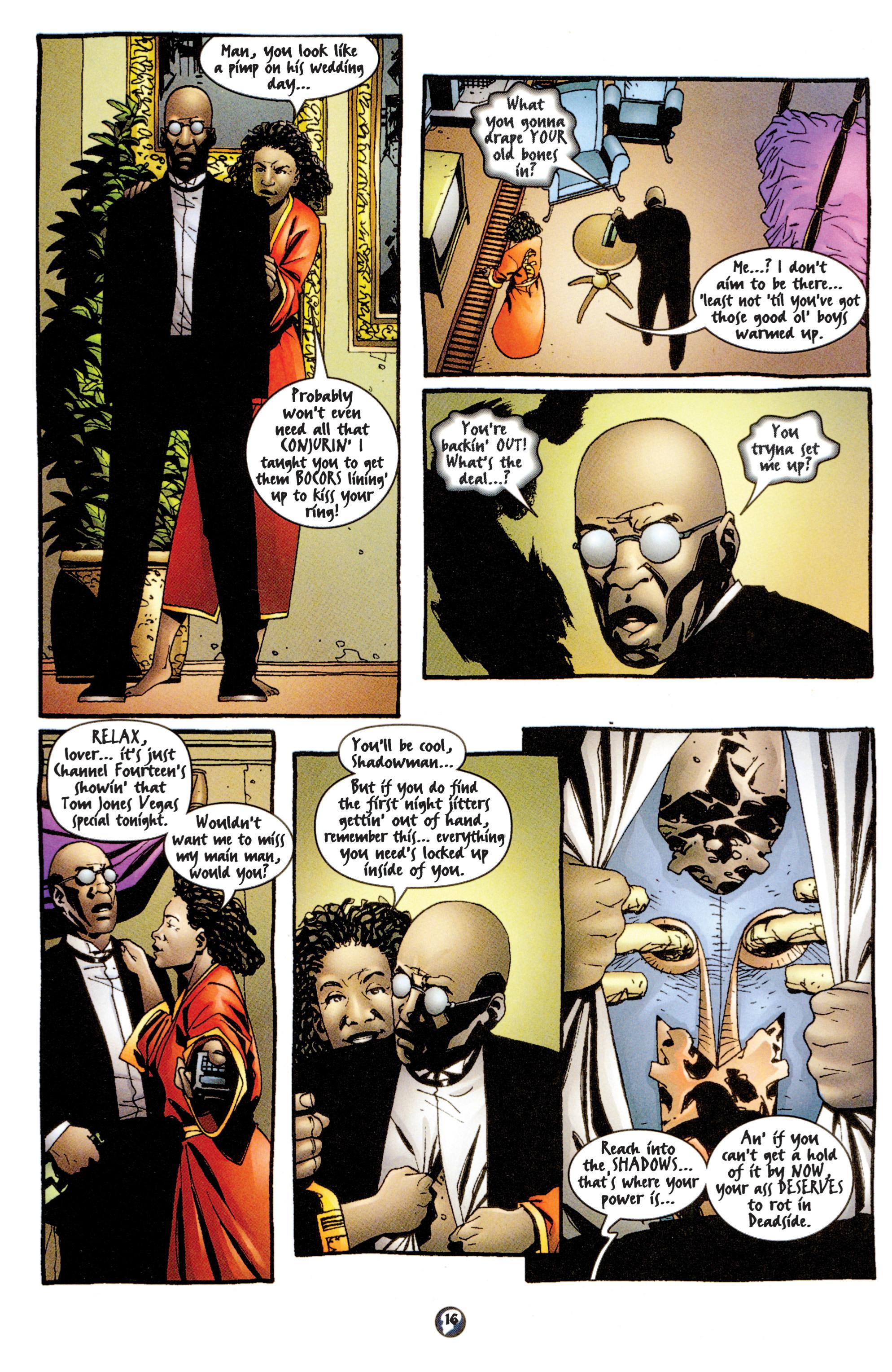 Read online Shadowman (1997) comic -  Issue #13 - 13