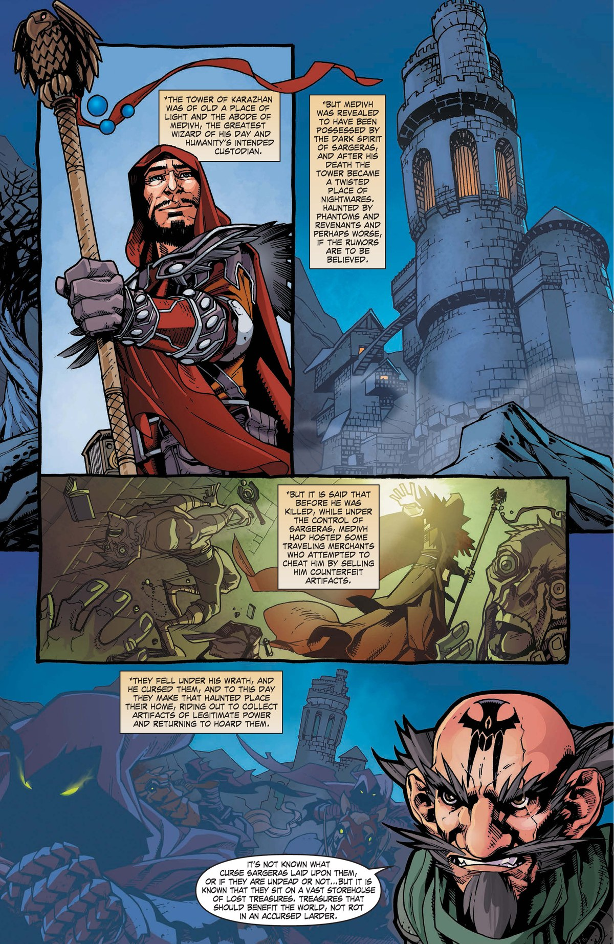 Read online World of Warcraft: Dark Riders comic -  Issue # Full - 88