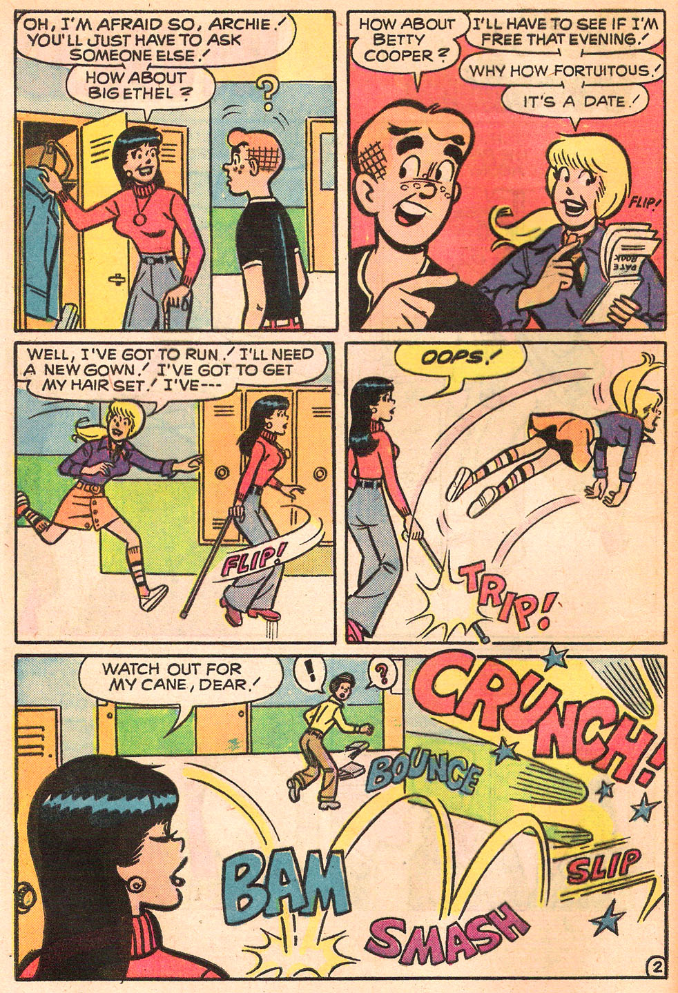 Read online Archie's Girls Betty and Veronica comic -  Issue #242 - 4