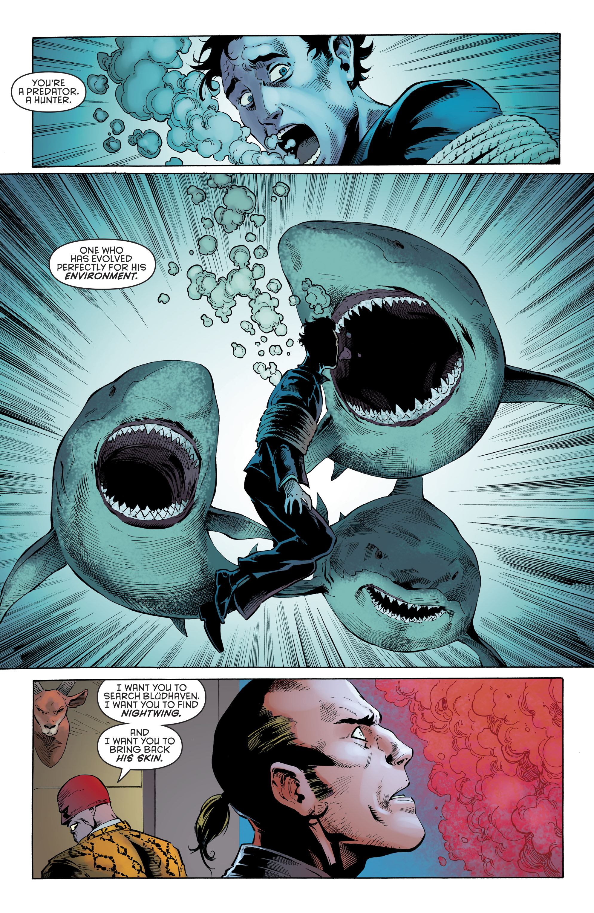 Read online Nightwing (2016) comic -  Issue #22 - 16