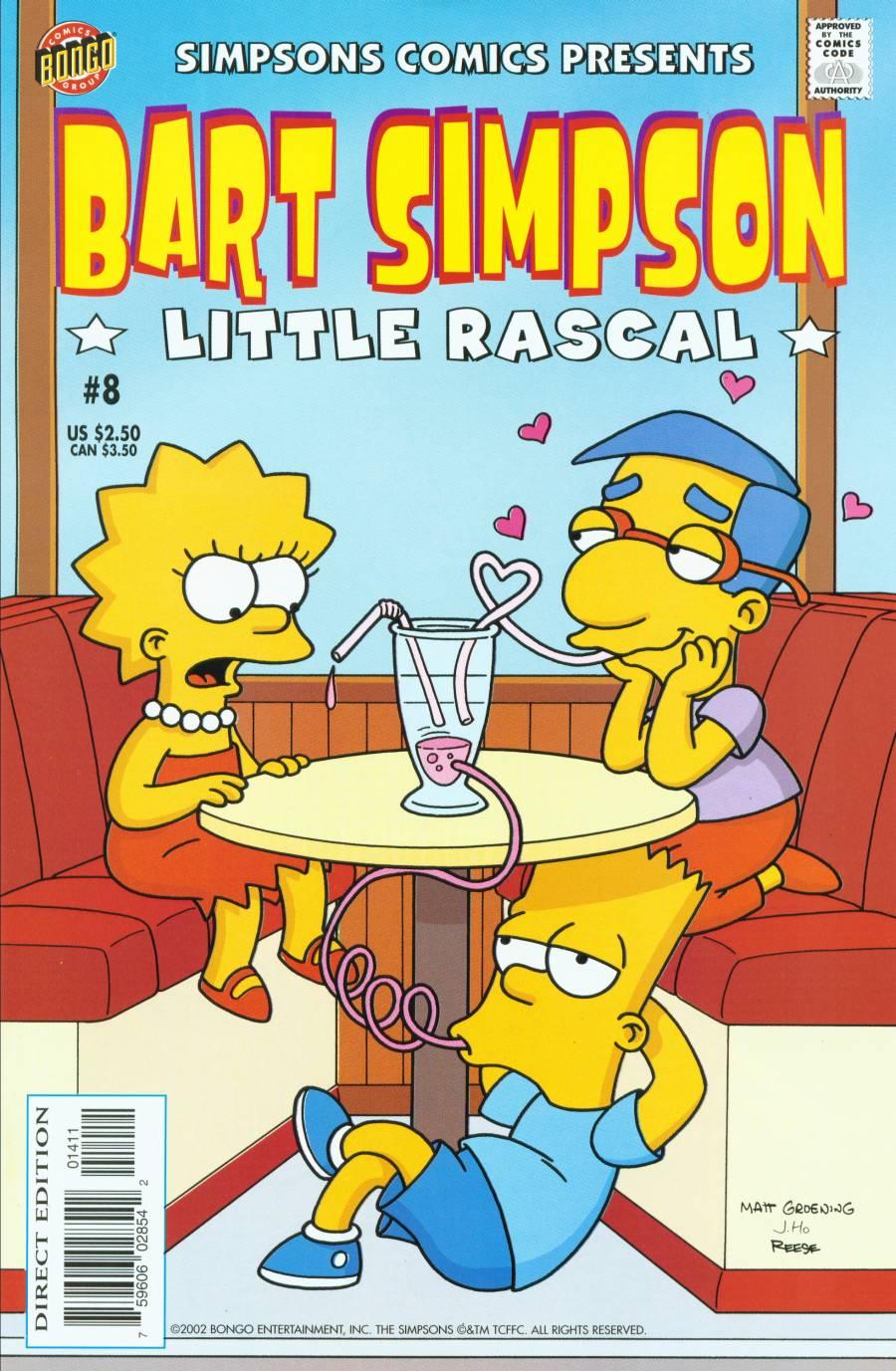 Simpsons Comics Presents Bart Simpson 8 Page 1