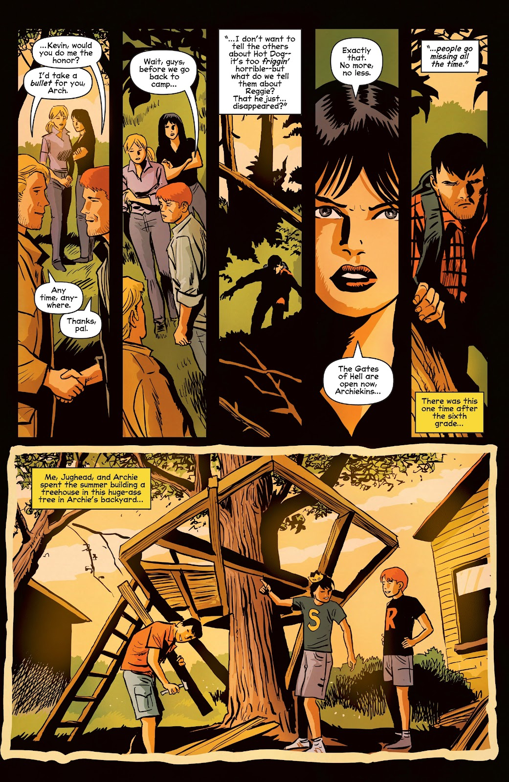 Afterlife with Archie issue 9 - Page 22