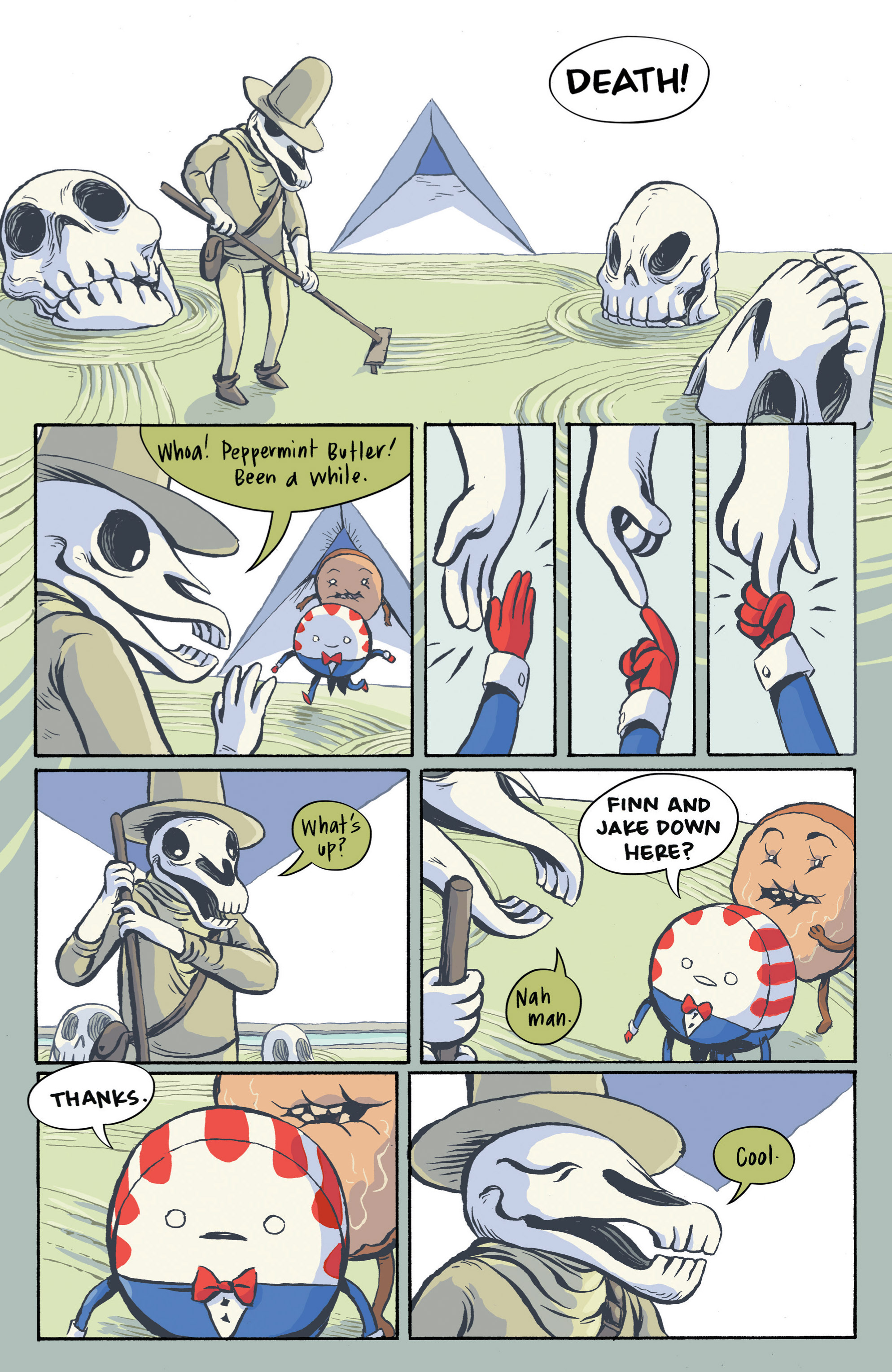 Read online Adventure Time: Candy Capers comic -  Issue #3 - 16