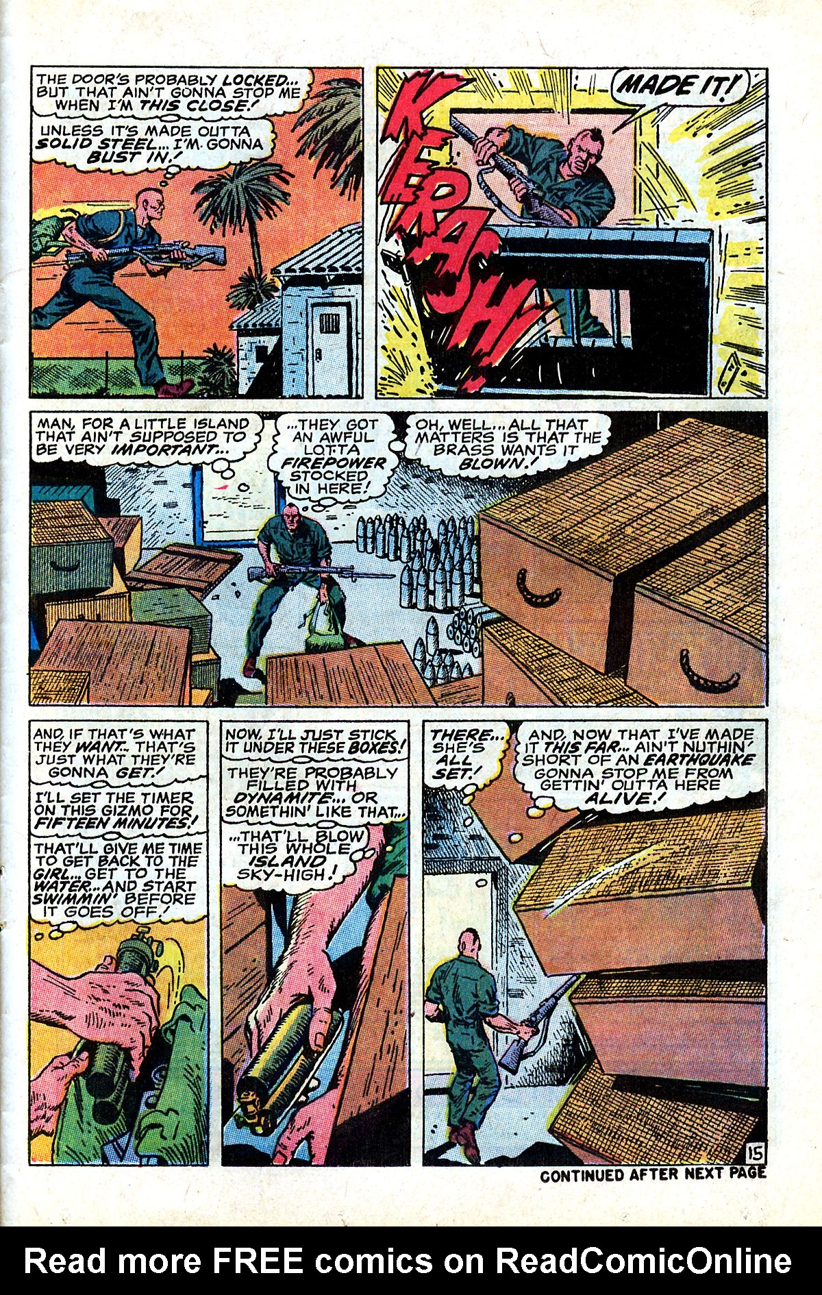 Captain Savage and his Leatherneck Raiders issue 17 - Page 25