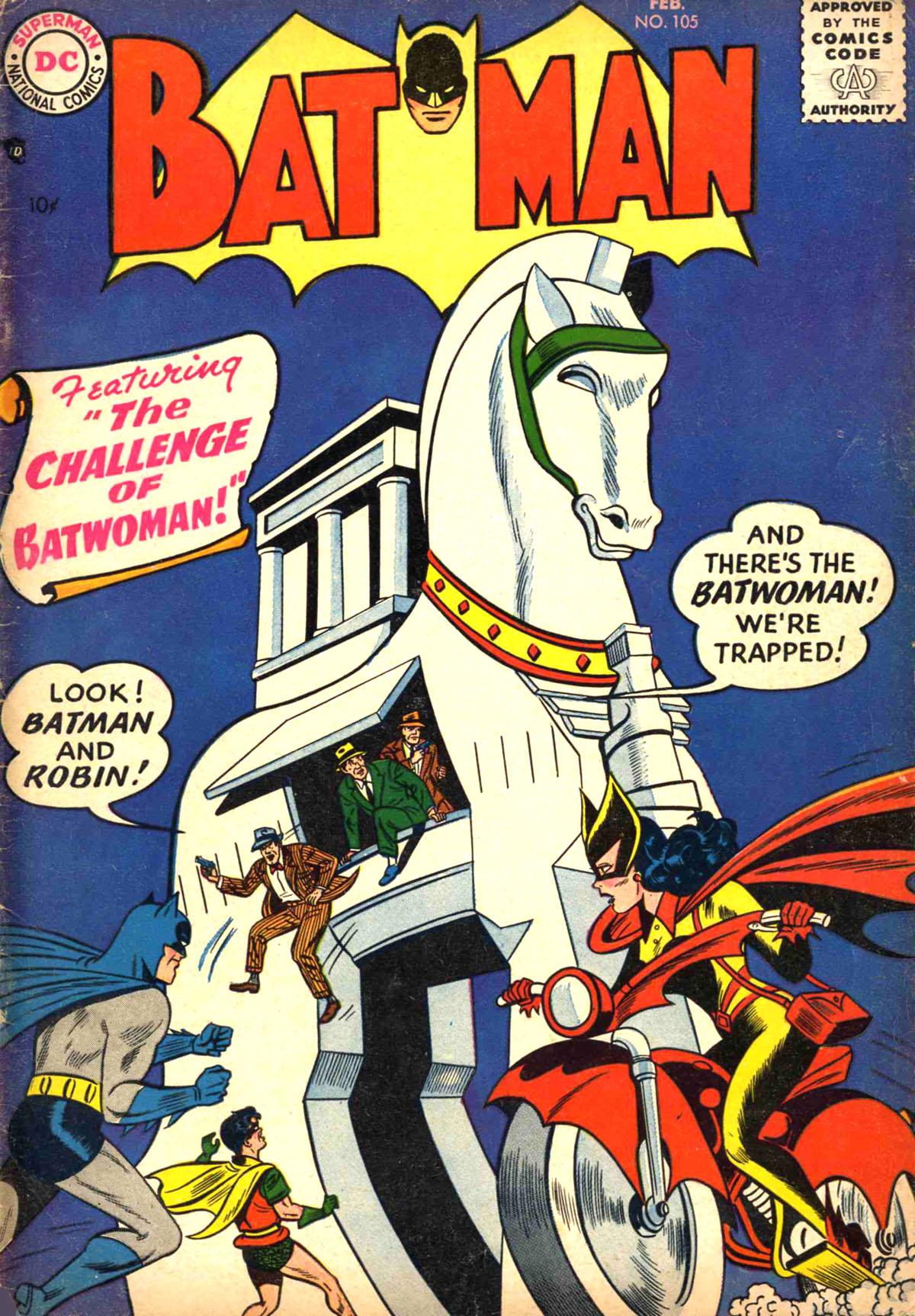 Batman (1940) 105 Page 1