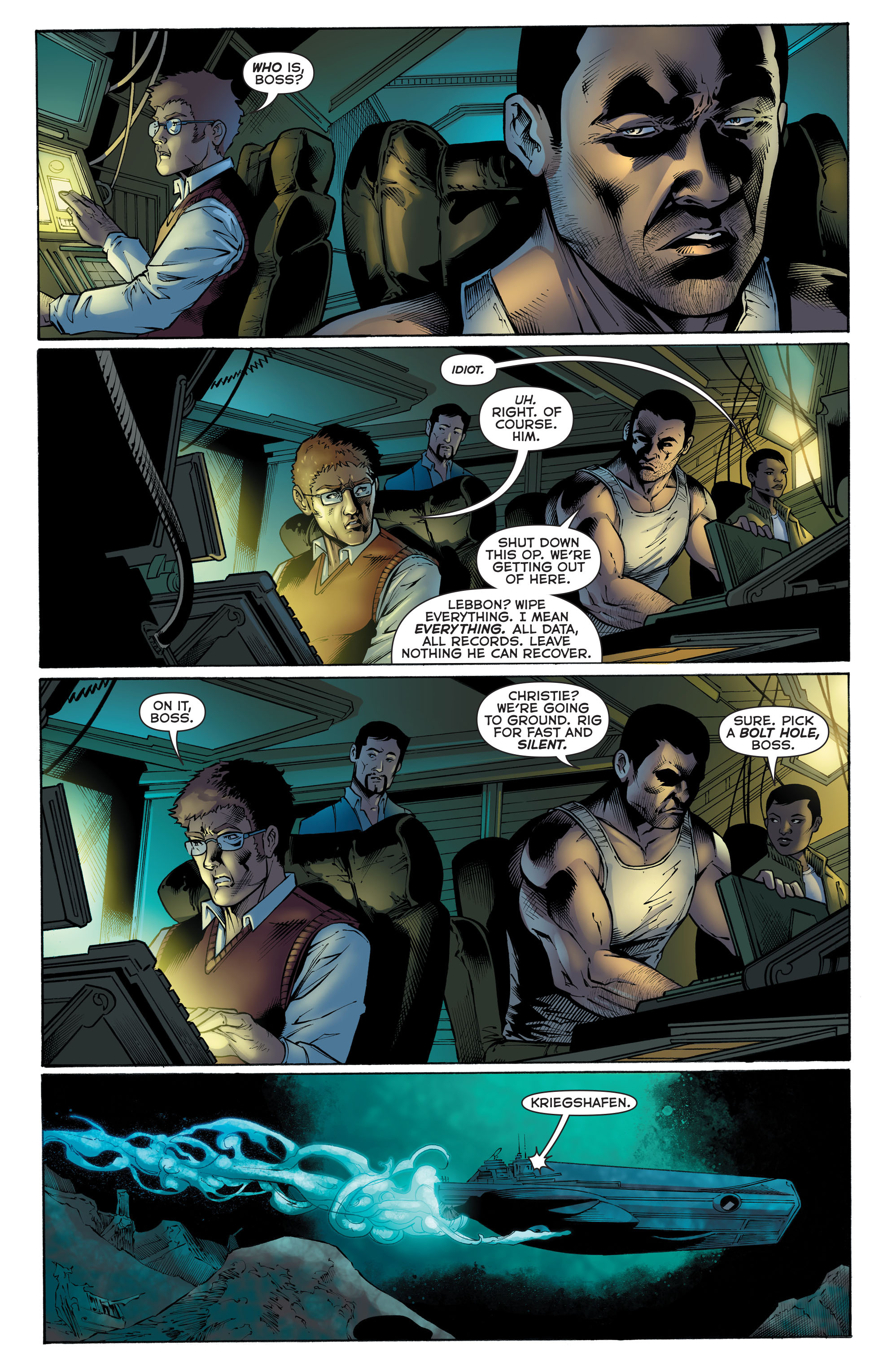 Read online Aquaman (2011) comic -  Issue #51 - 5
