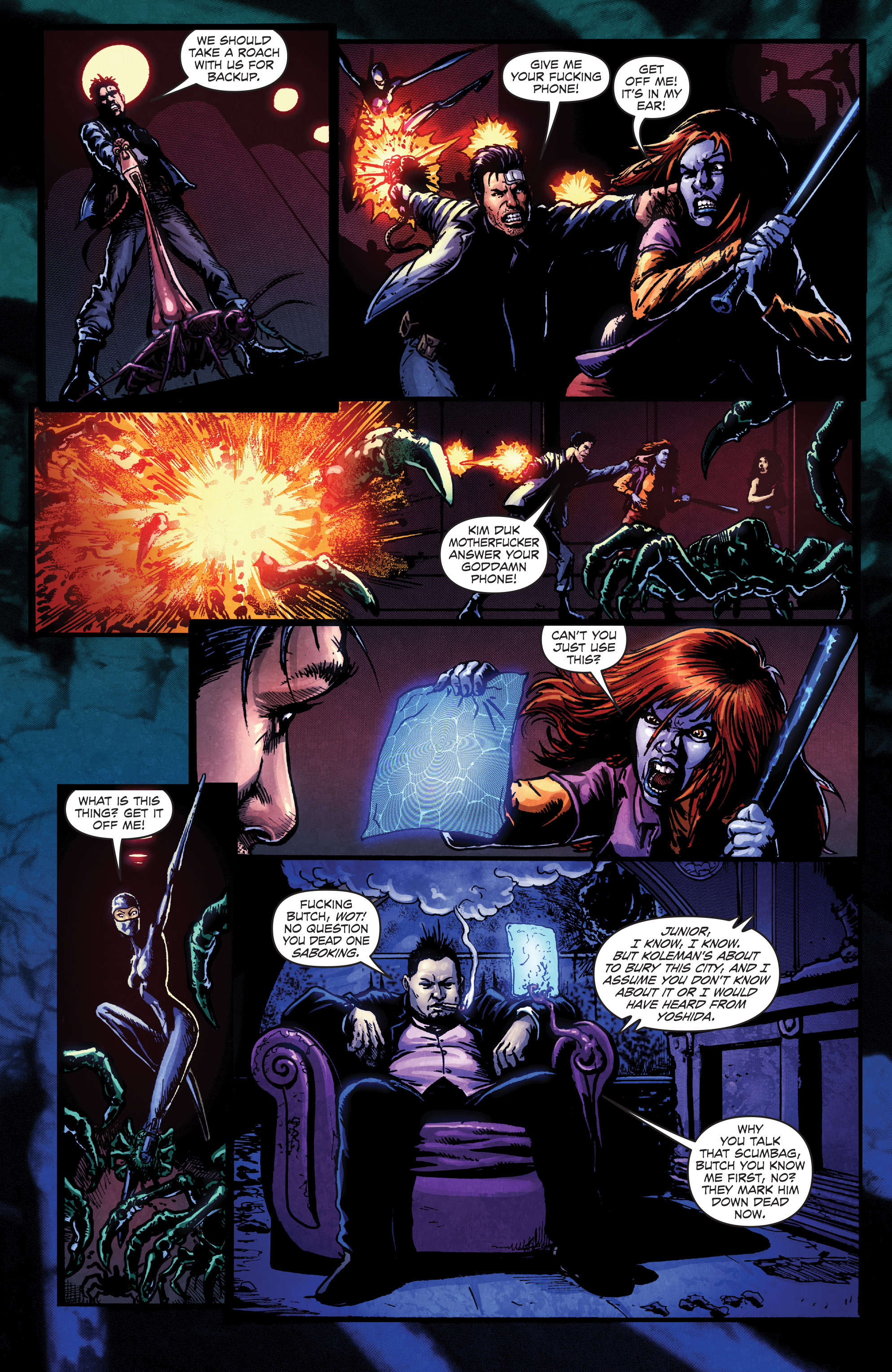 Read online Ballistic (2013) comic -  Issue #4 - 21