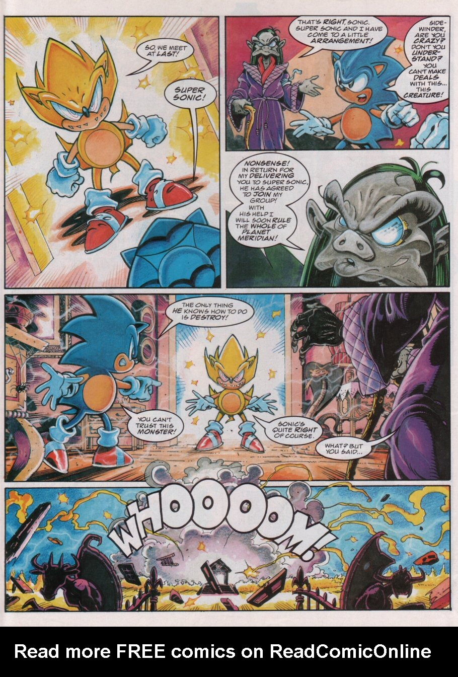 Read online Sonic the Comic comic -  Issue #85 - 6