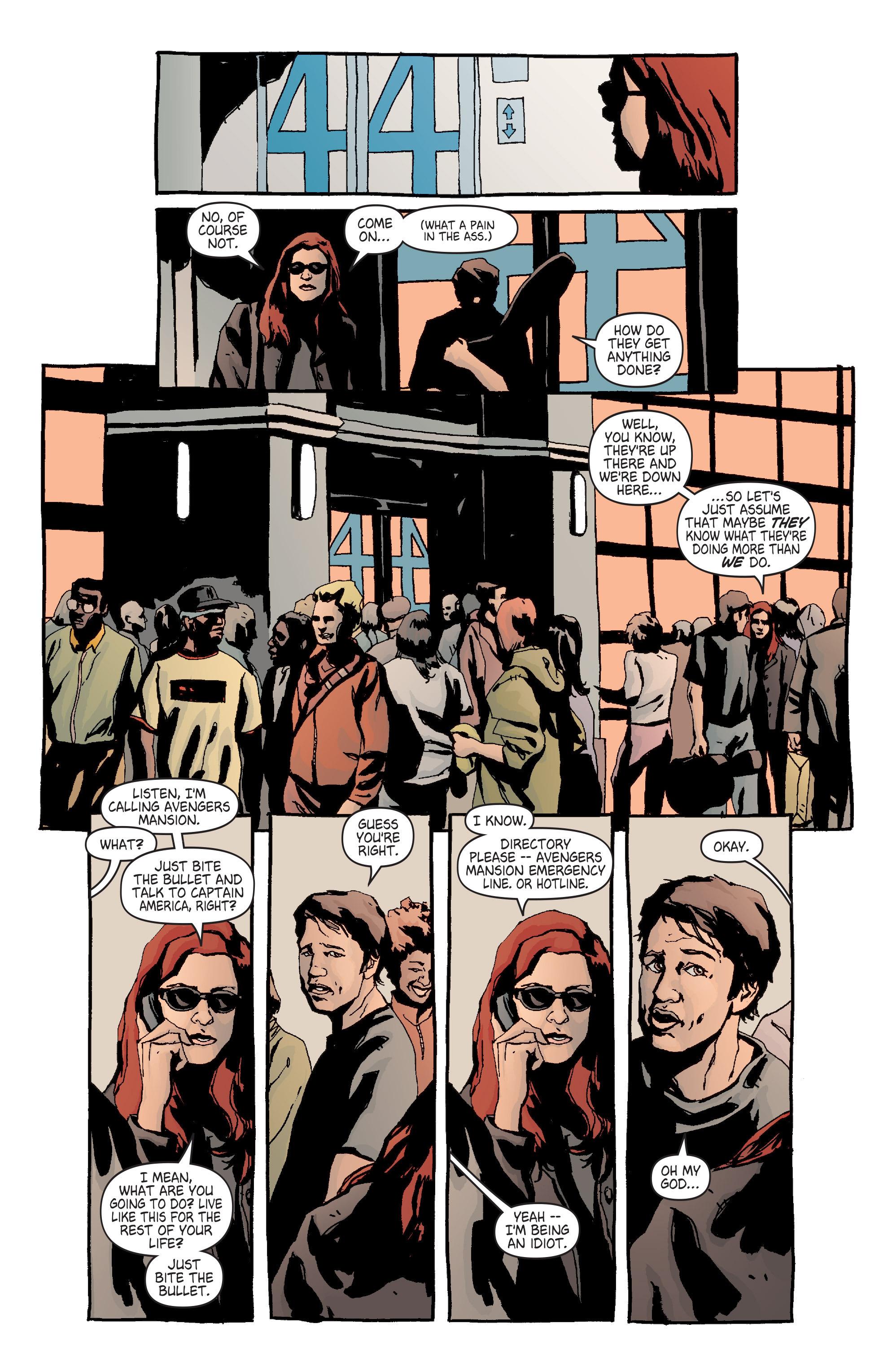 Read online Alias comic -  Issue #8 - 19