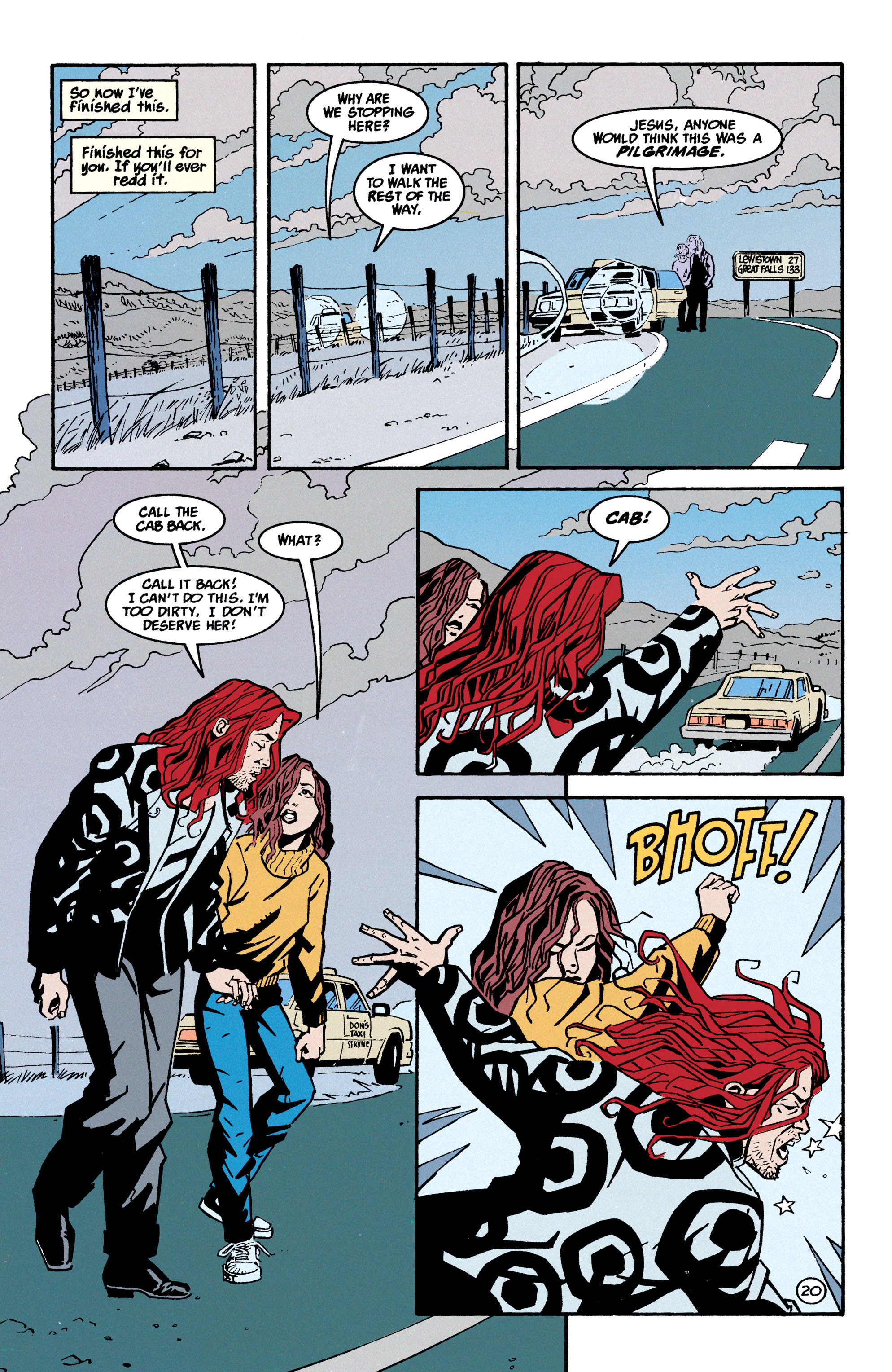 Read online Shade, the Changing Man comic -  Issue #70 - 21