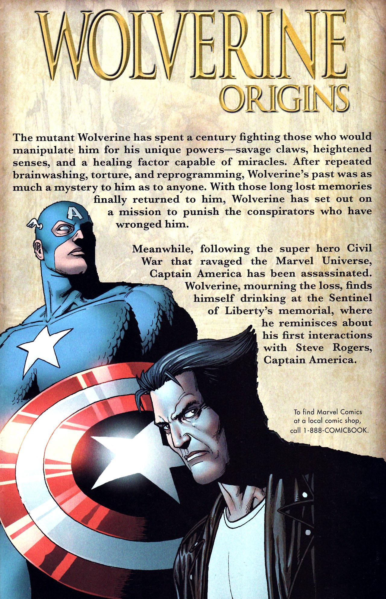 Read online Wolverine: Origins comic -  Issue #17 - 2