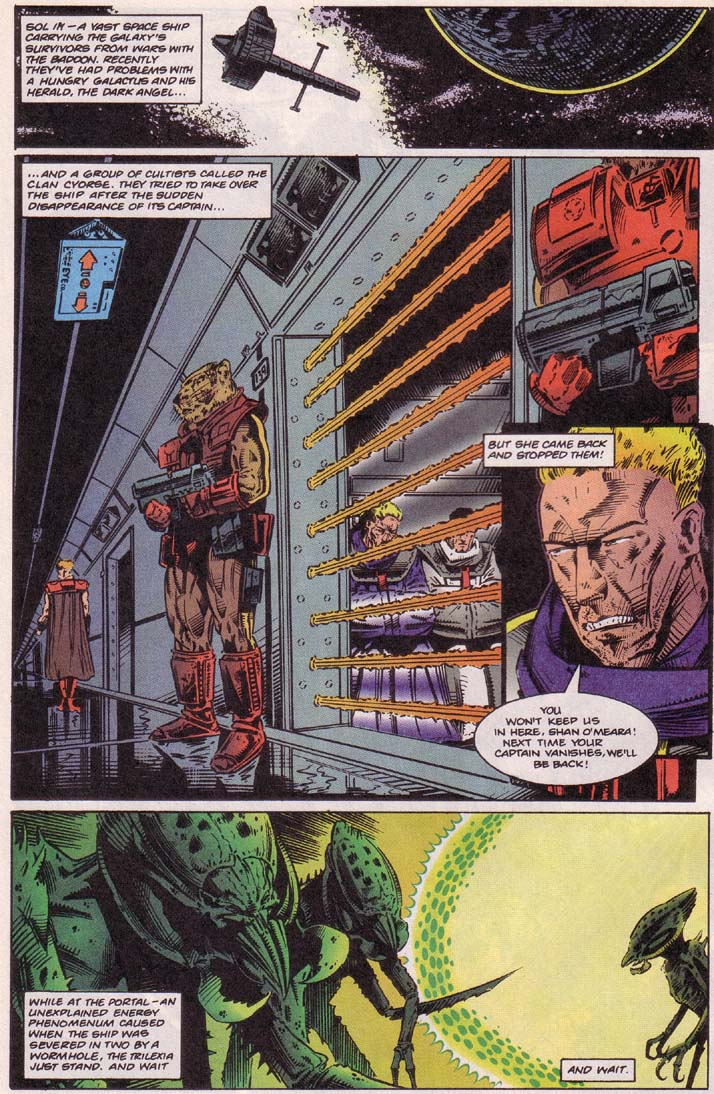 Read online Cyberspace 3000 comic -  Issue #4 - 9