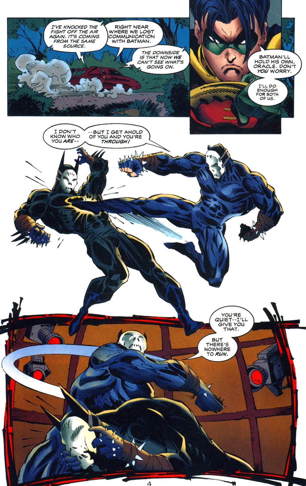 Read online Batman/Wildcat comic -  Issue #3 - 4